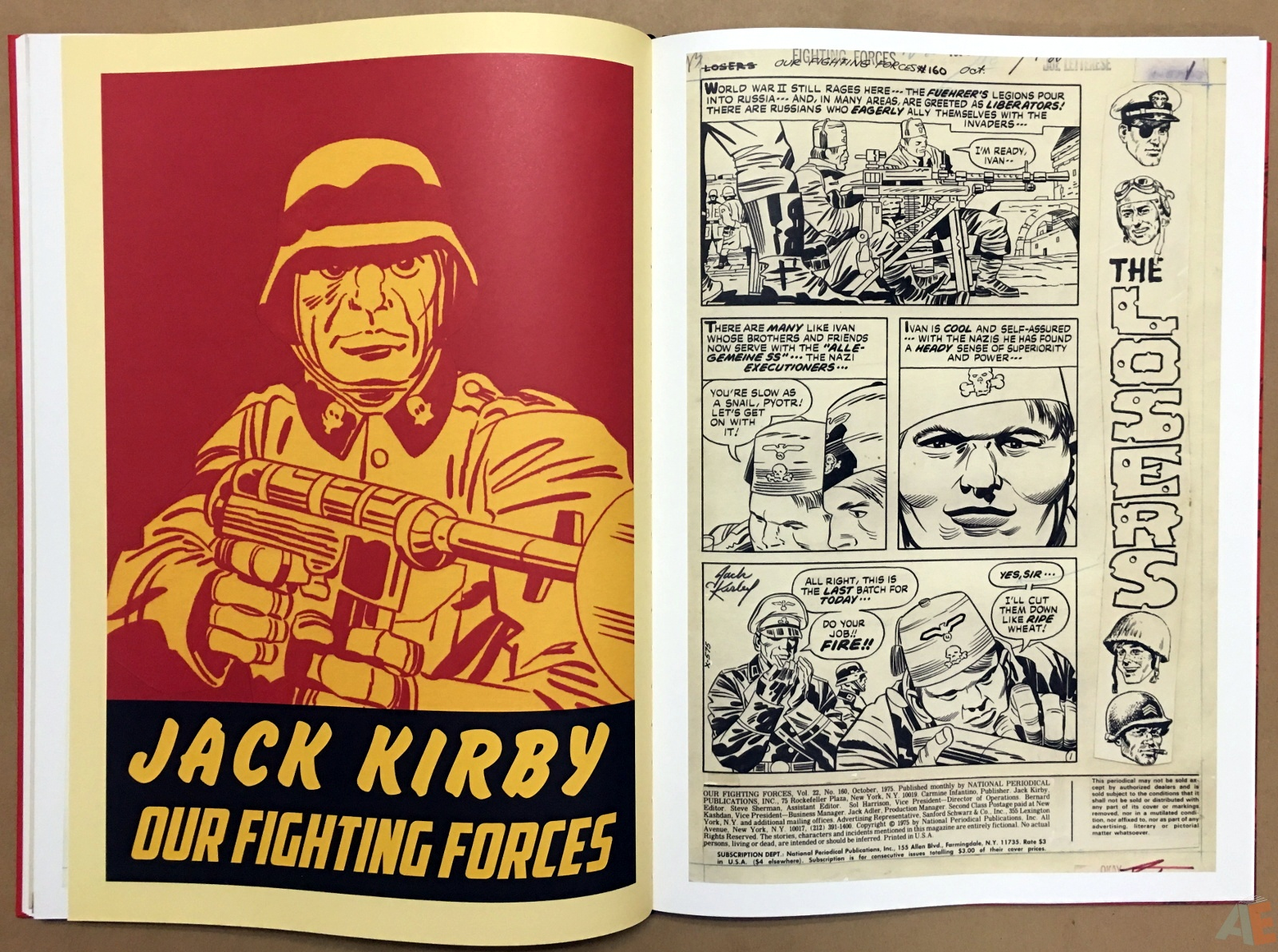 Best of DC War Artist's Edition 28