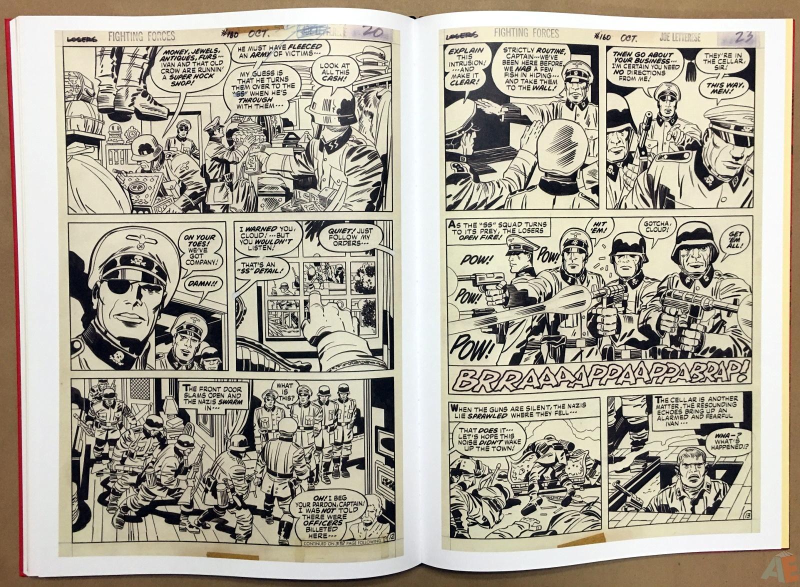 Best of DC War Artist's Edition 30