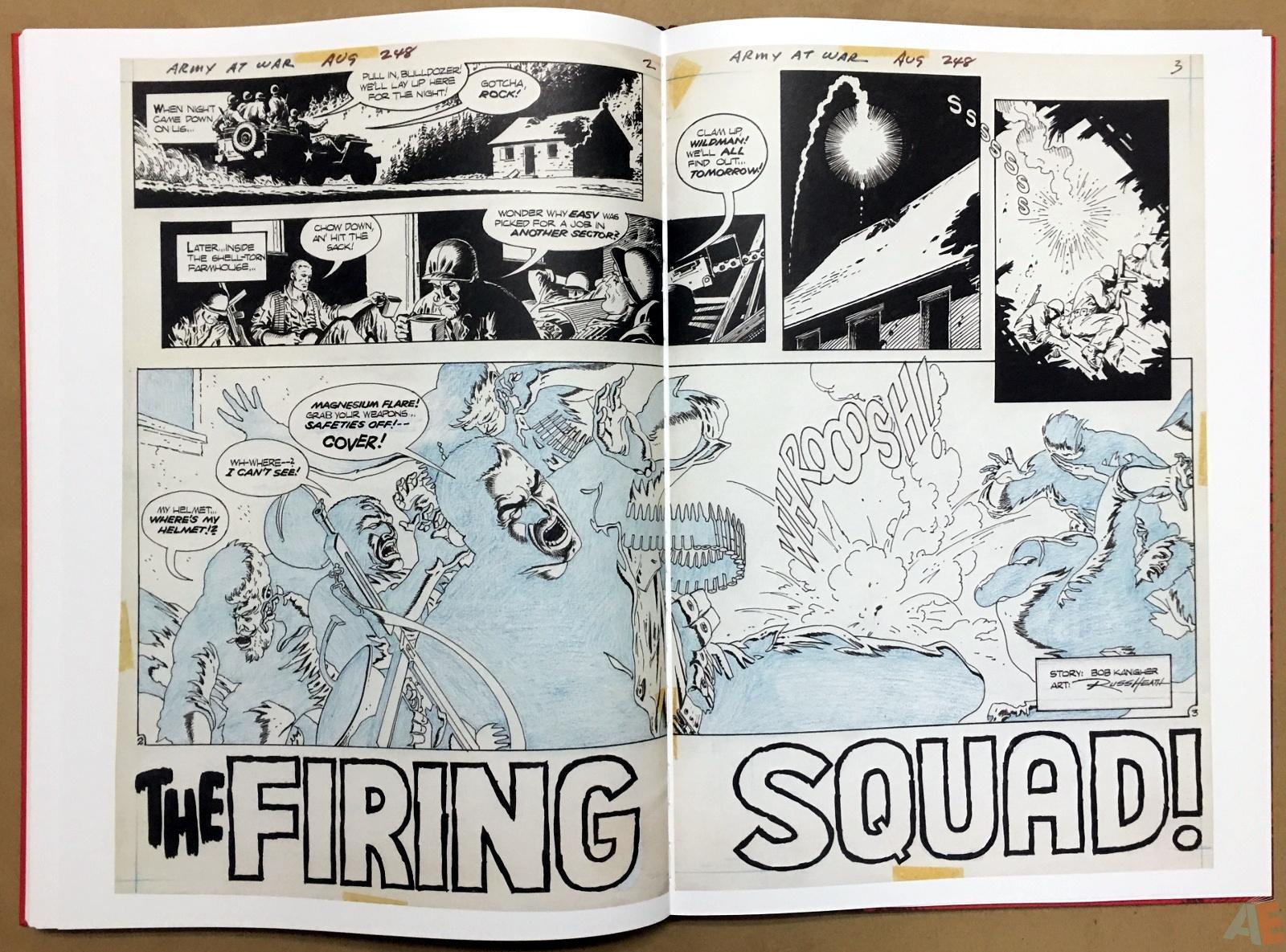 Best of DC War Artist's Edition 36