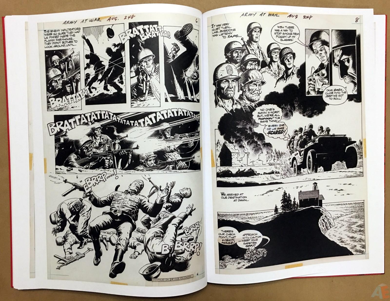 Best of DC War Artist's Edition 38