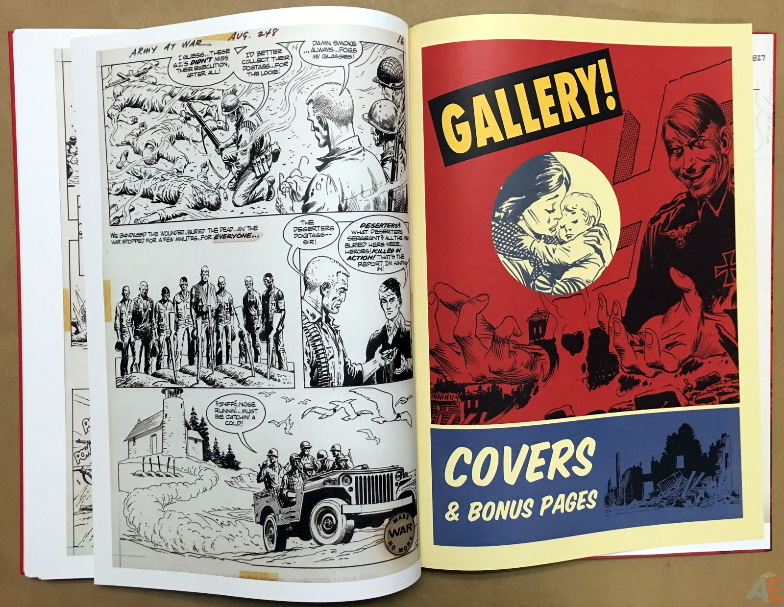 Best of DC War Artist's Edition 40