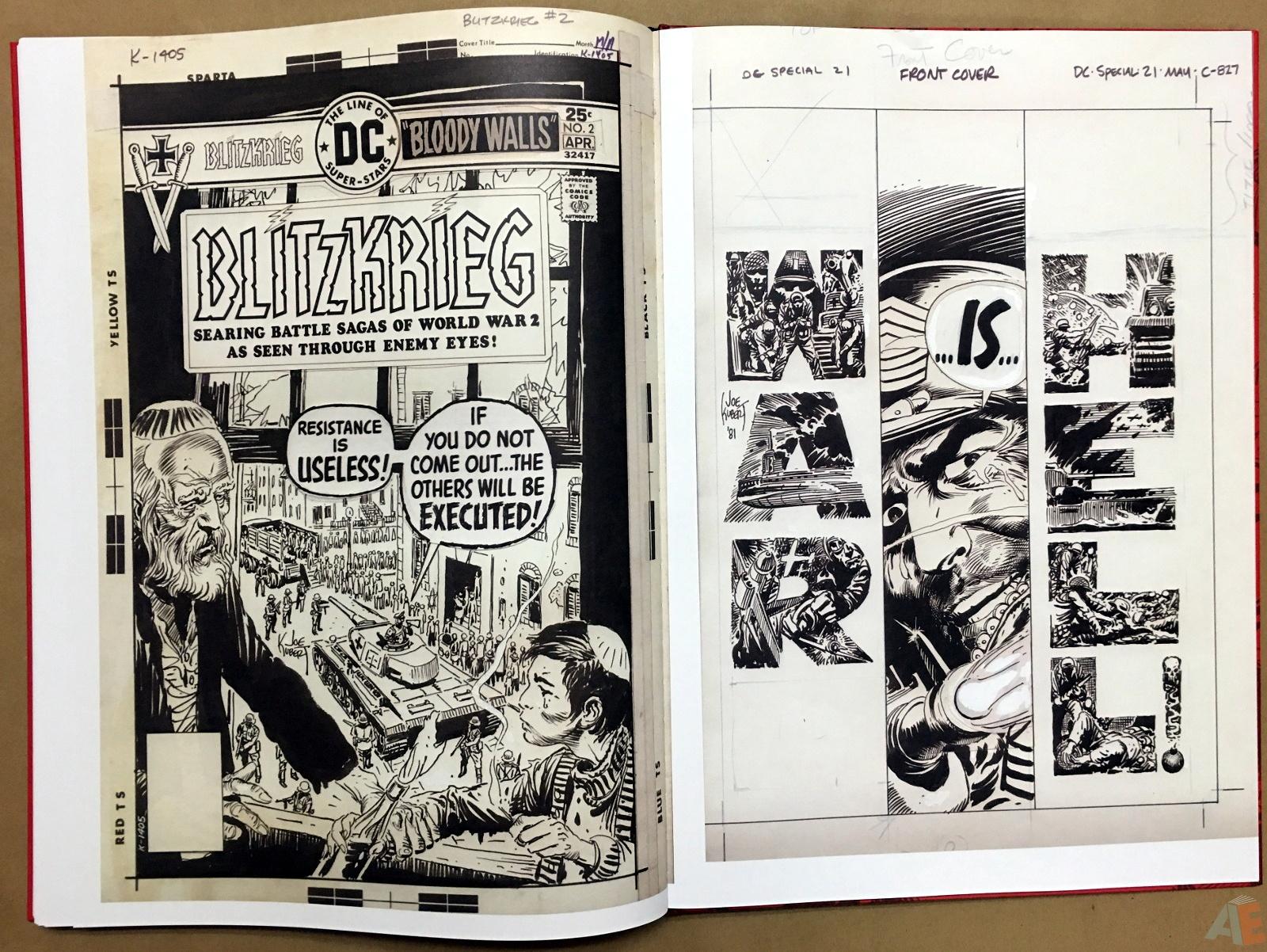 Best of DC War Artist's Edition 42