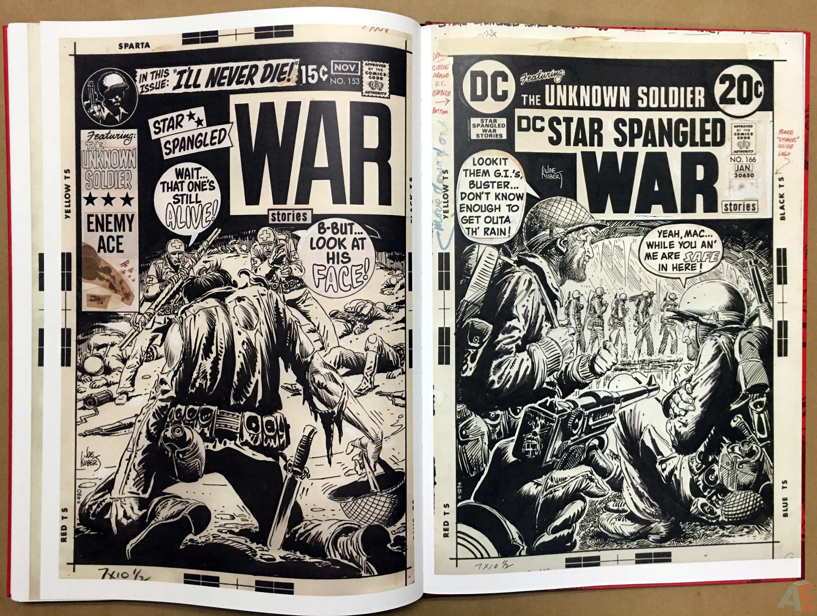 Best of DC War Artist's Edition 46