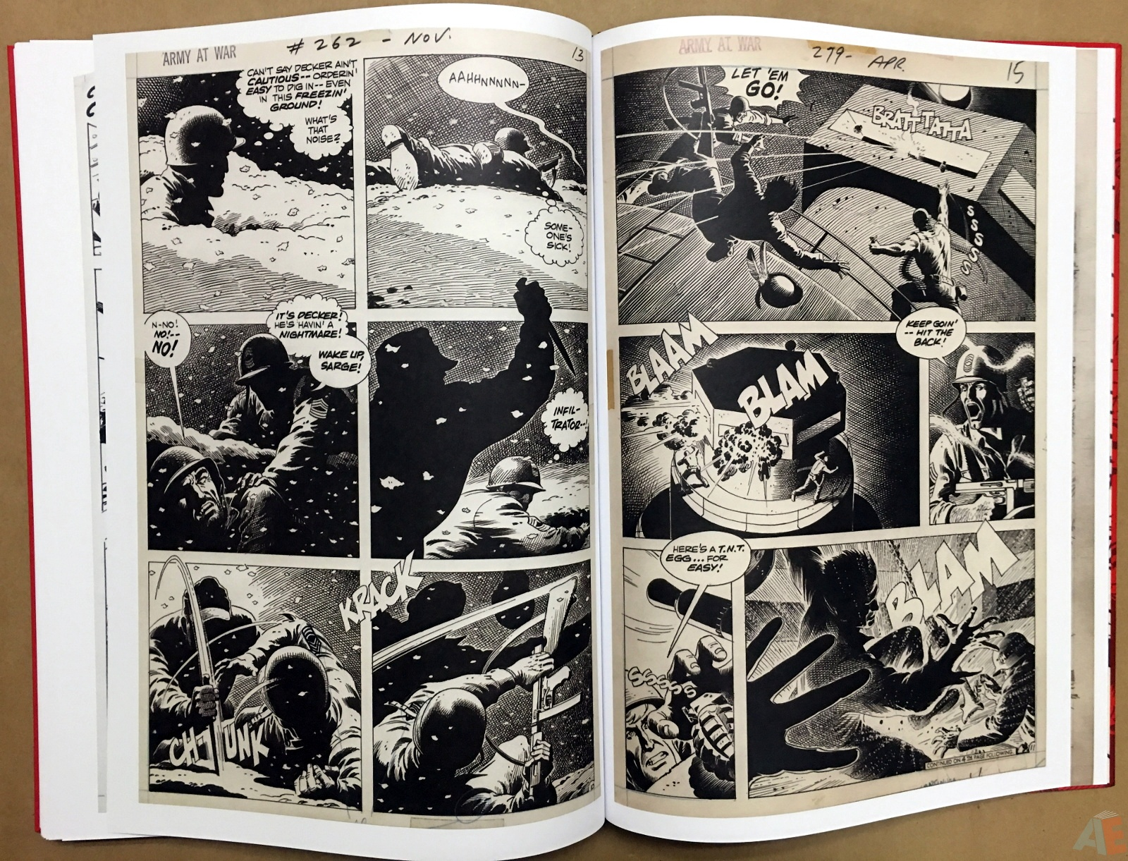 Best of DC War Artist's Edition 50
