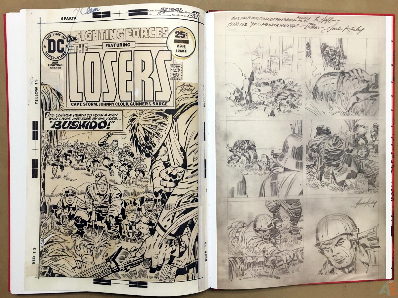 Best of DC War Artist's Edition 52