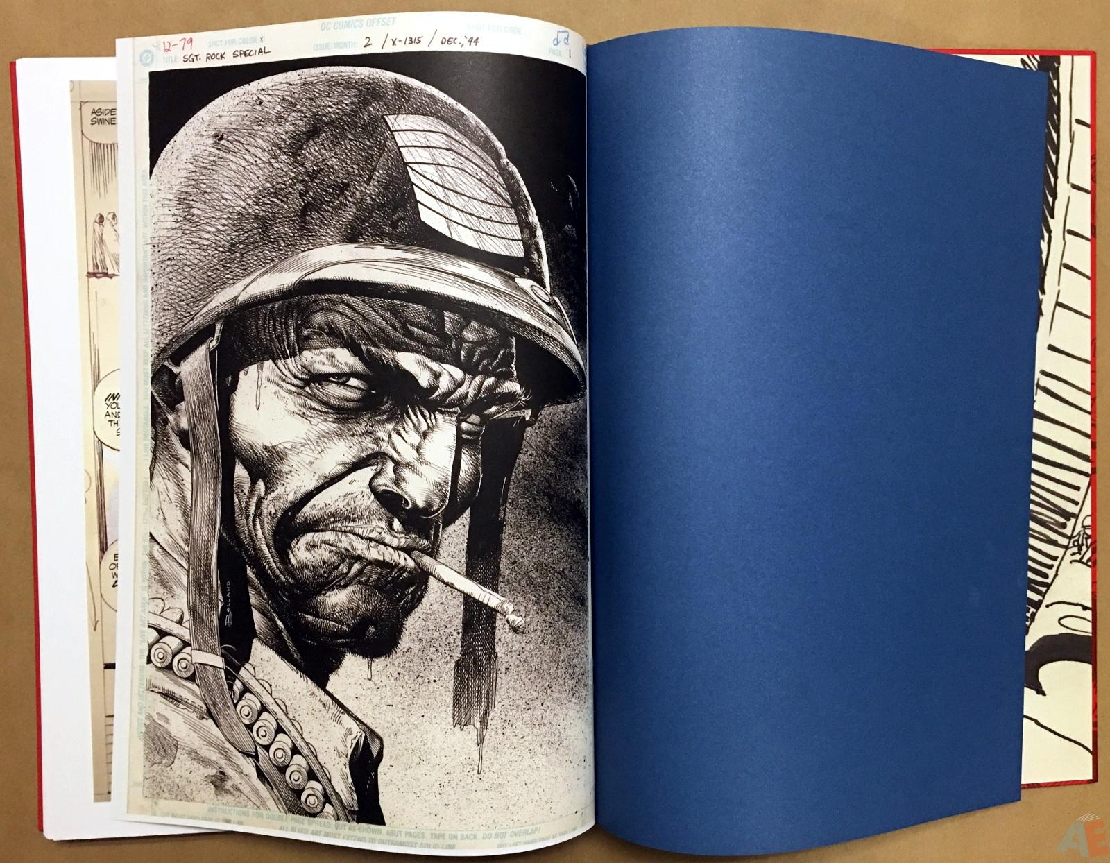 Best of DC War Artist's Edition 54