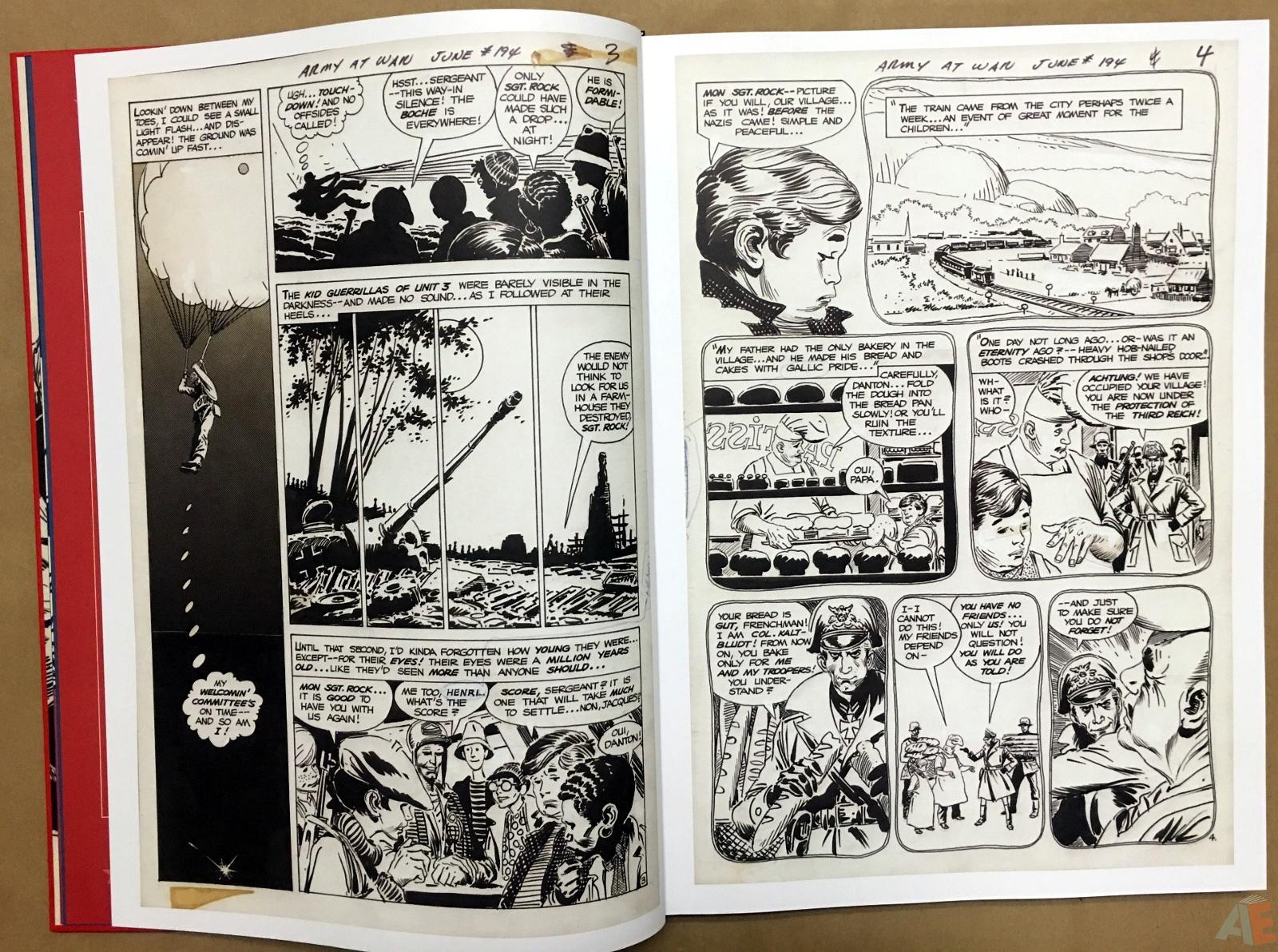 Best of DC War Artist's Edition 8