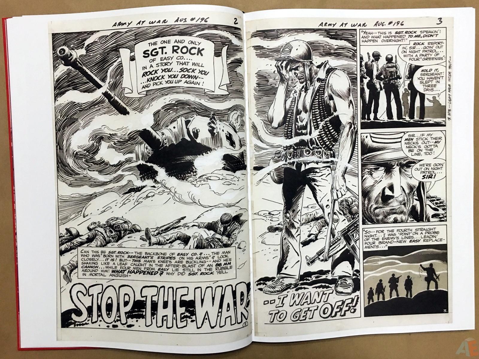 Best of DC War Artist's Edition 12
