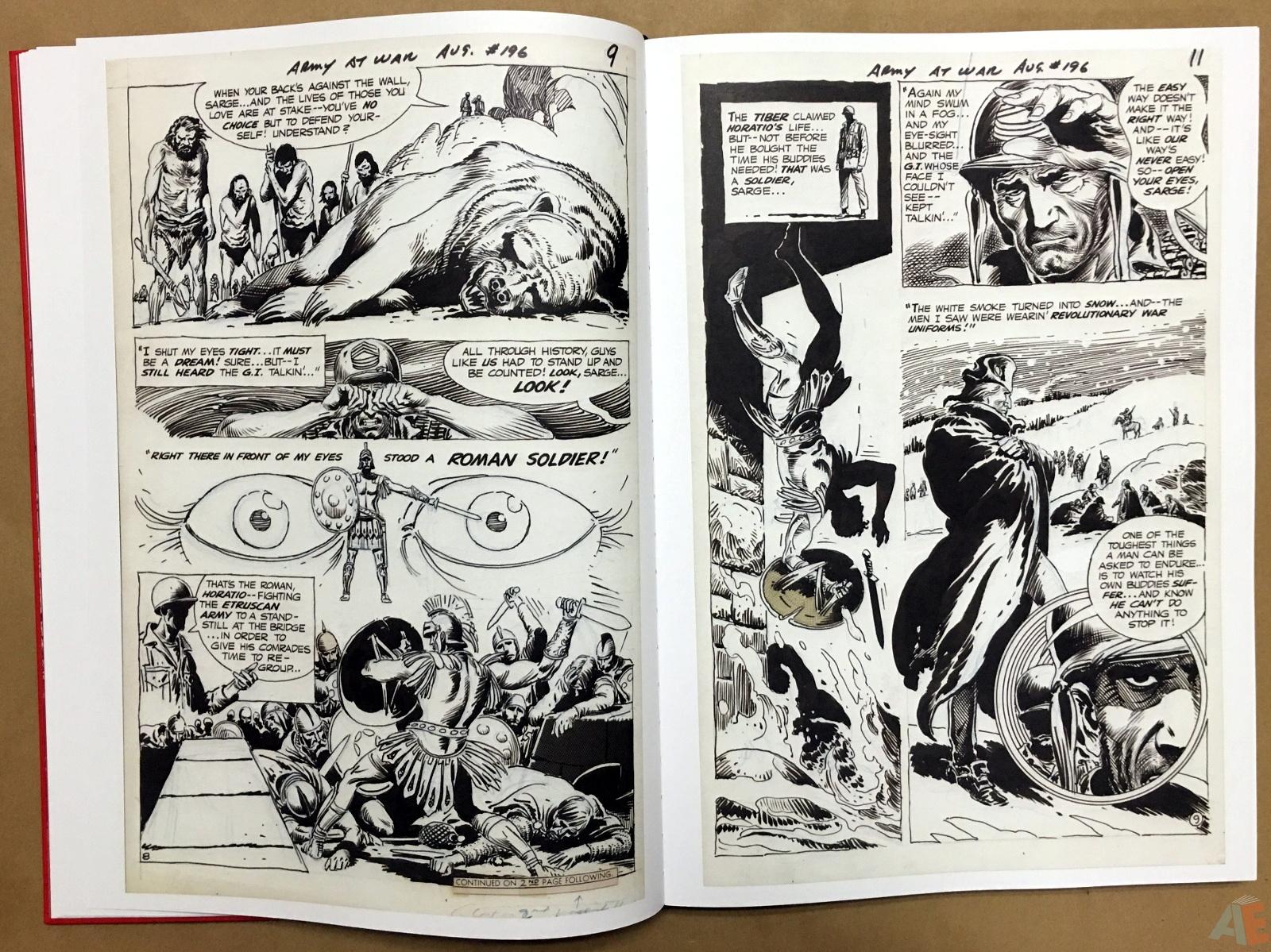 Best of DC War Artist's Edition 14