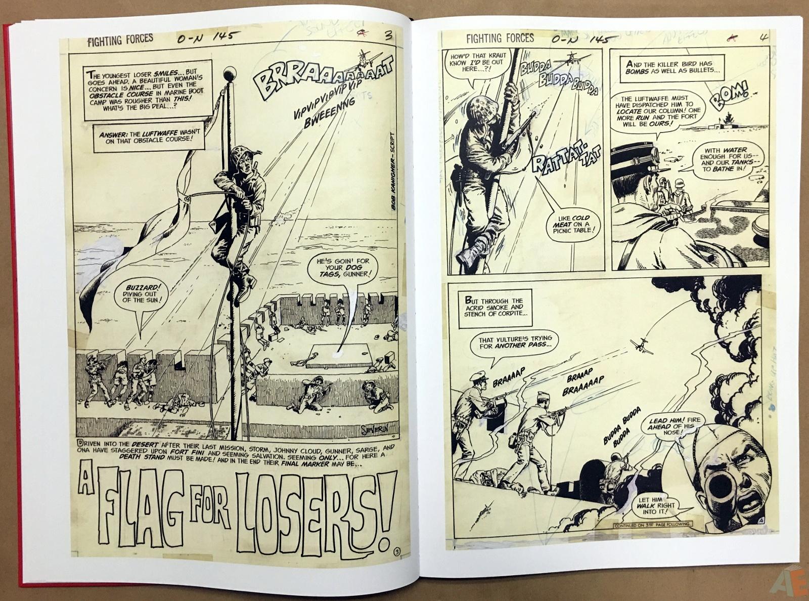 Best of DC War Artist's Edition 16