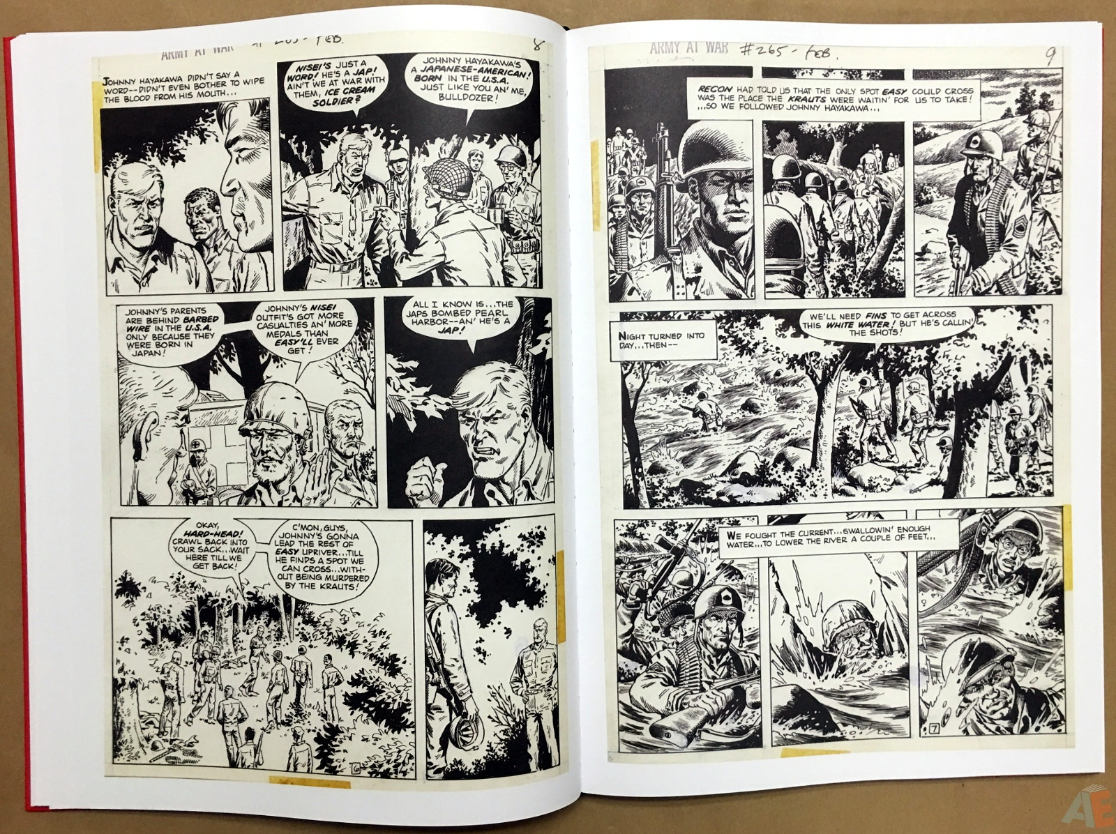 Best of DC War Artist's Edition 20