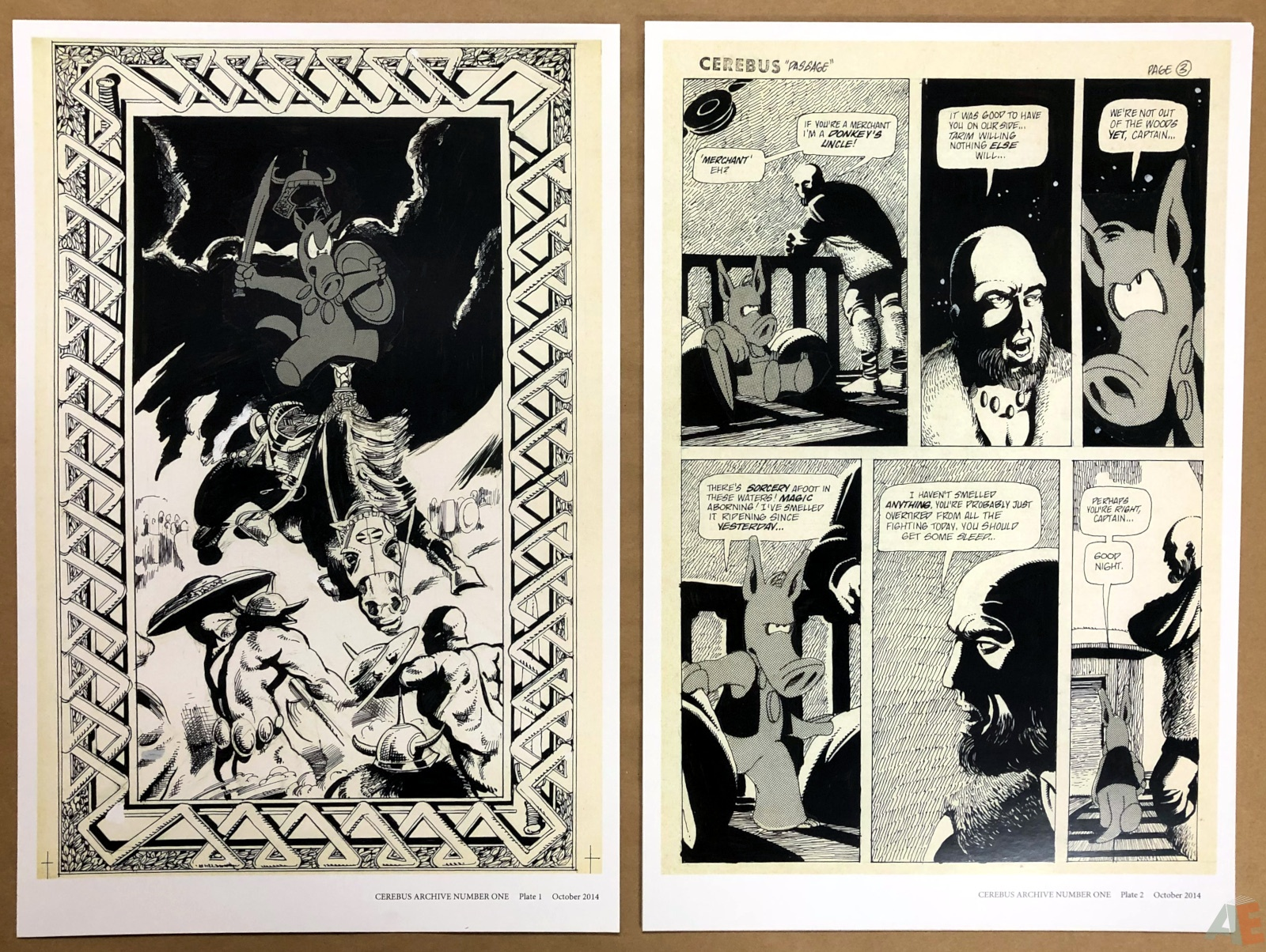 Cerebus Archive Number One 6