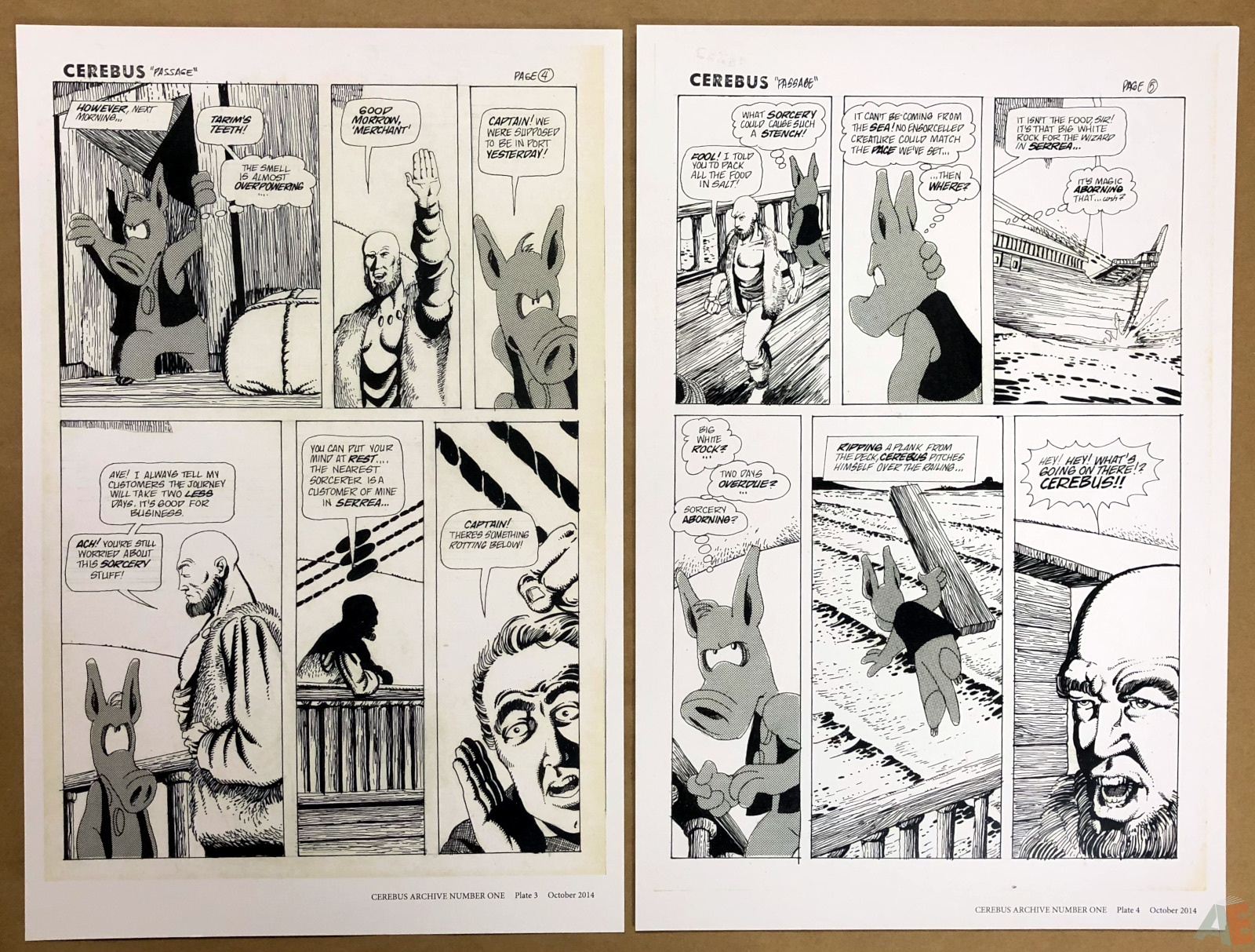 Cerebus Archive Number One 8