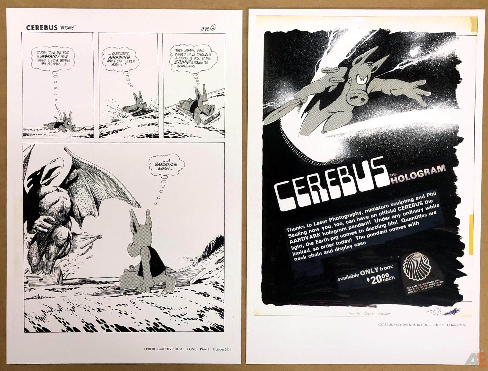 Cerebus Archive Number One 10
