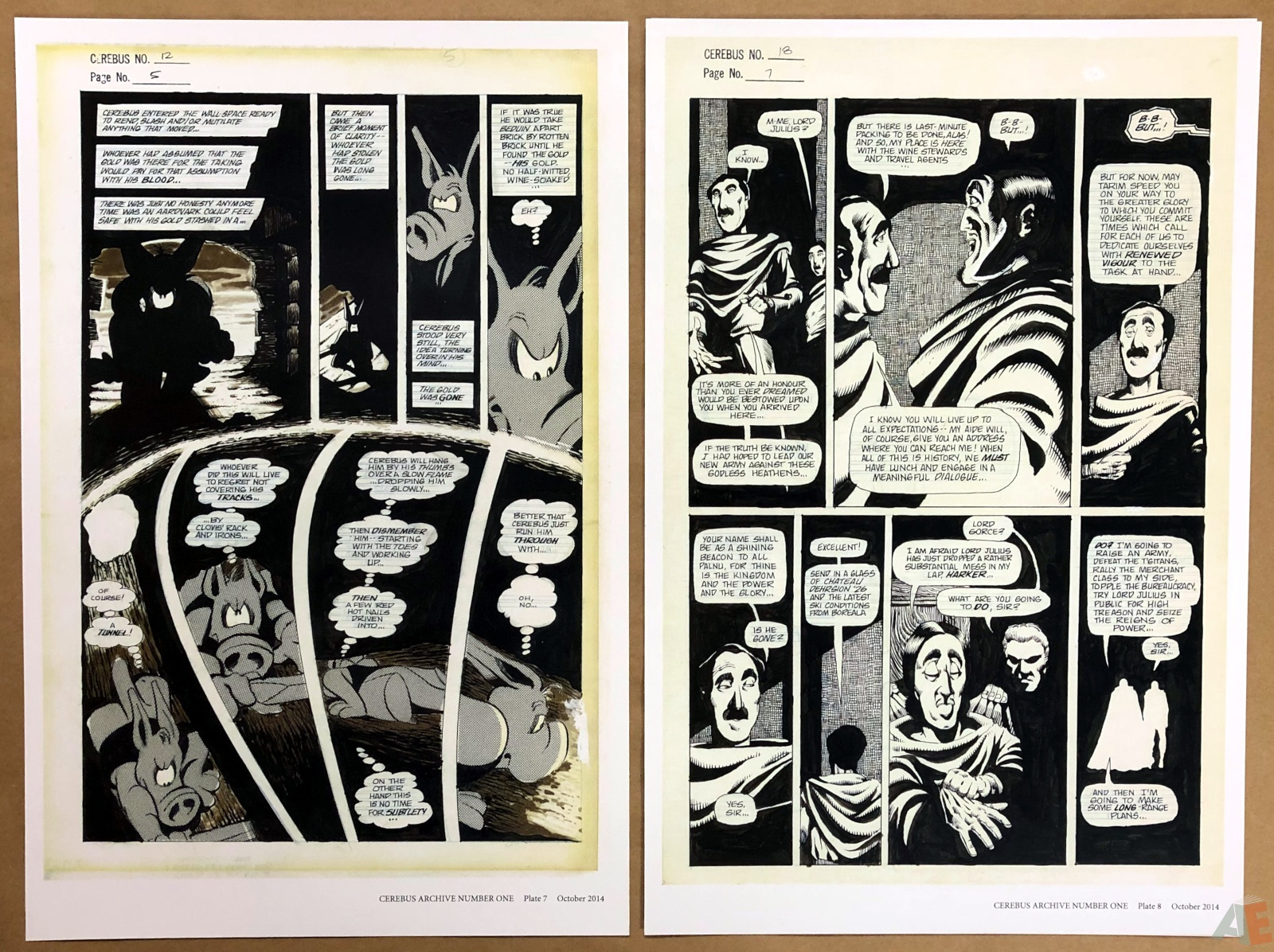 Cerebus Archive Number One 12
