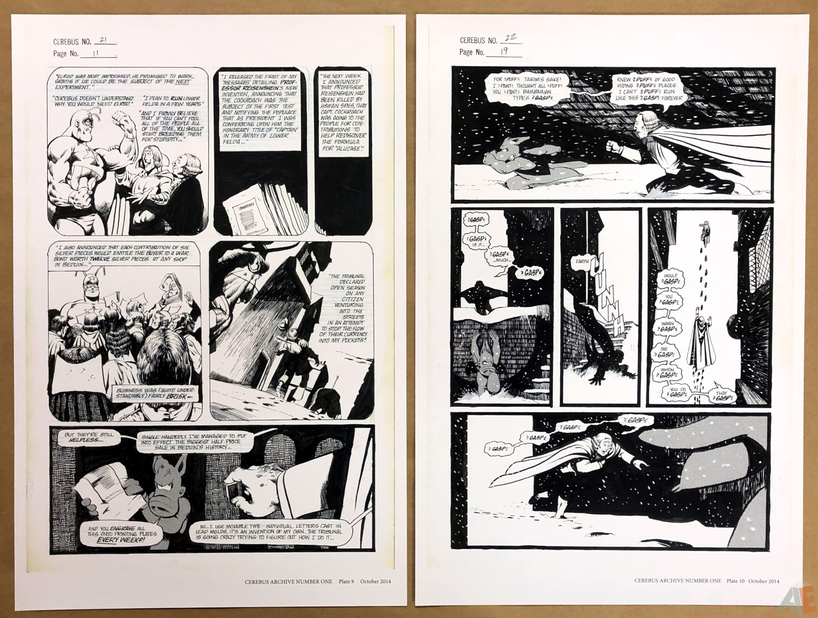 Cerebus Archive Number One 14