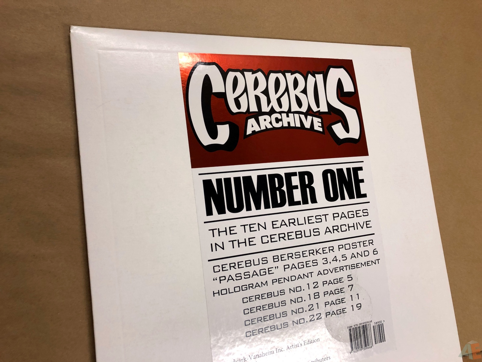 Cerebus Archive Number One 16