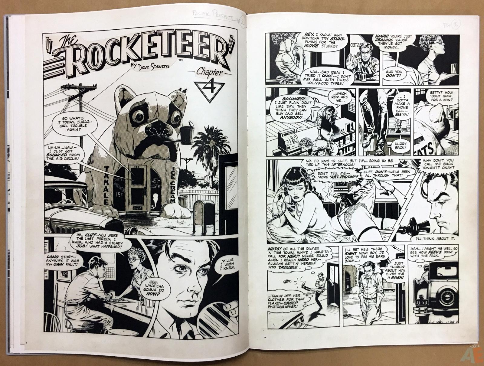 Dave Stevens' The Rocketeer Artist's Edition