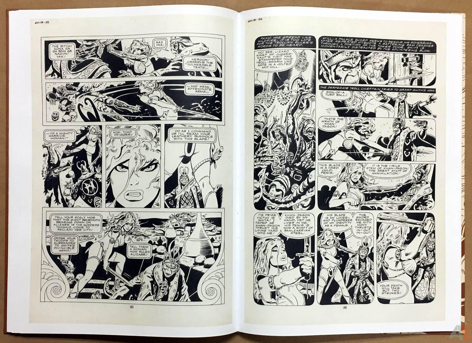 Frank Thorne's Ghita An Erotic Treasury Archival Edition Volume 1 24