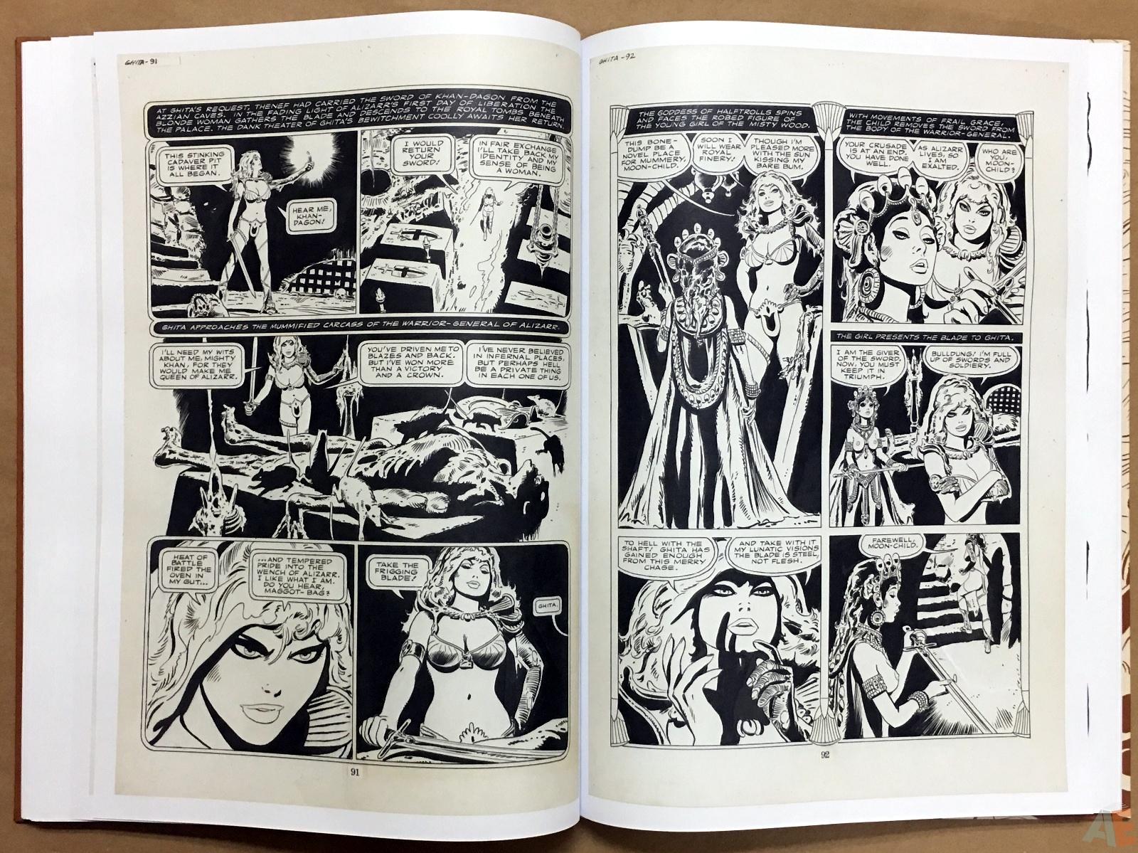 Frank Thorne's Ghita An Erotic Treasury Archival Edition Volume 1 26