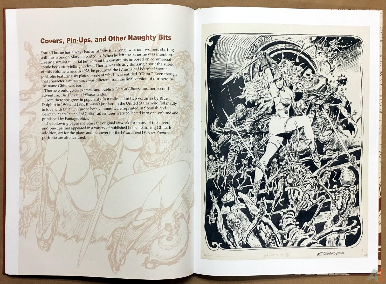 Frank Thorne's Ghita An Erotic Treasury Archival Edition Volume 1 28