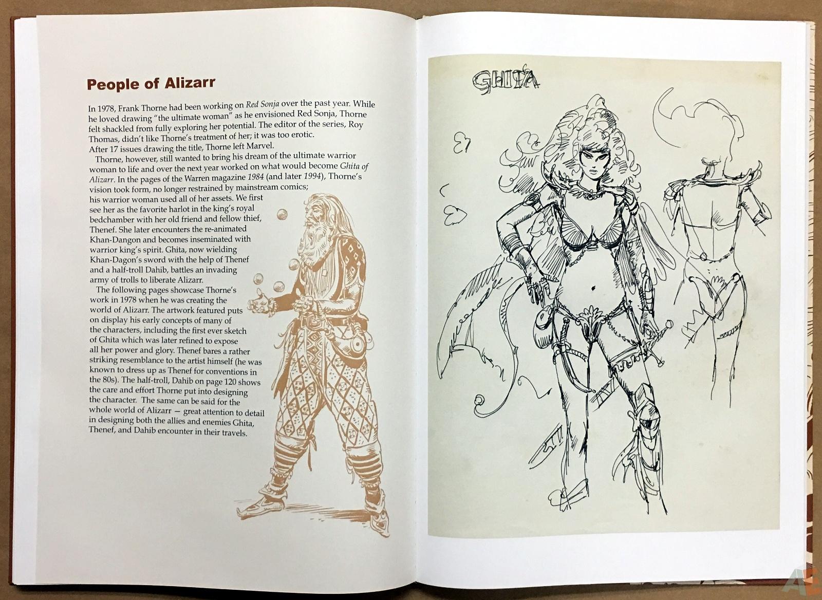Frank Thorne's Ghita An Erotic Treasury Archival Edition Volume 1 34