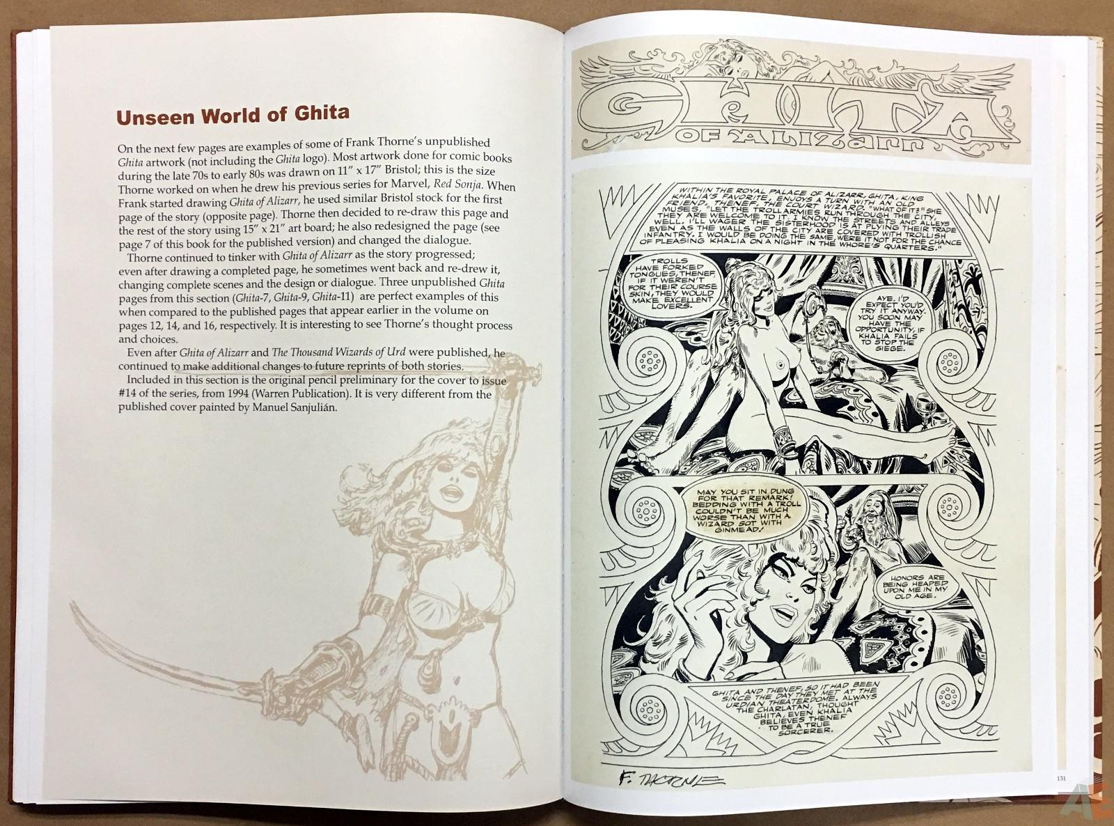 Frank Thorne's Ghita An Erotic Treasury Archival Edition Volume 1 38