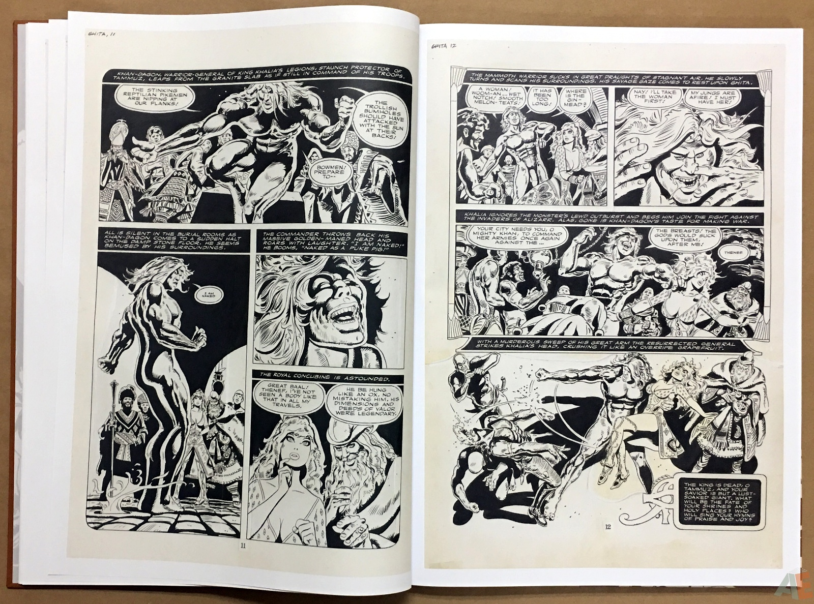 Frank Thorne's Ghita An Erotic Treasury Archival Edition Volume 1 8
