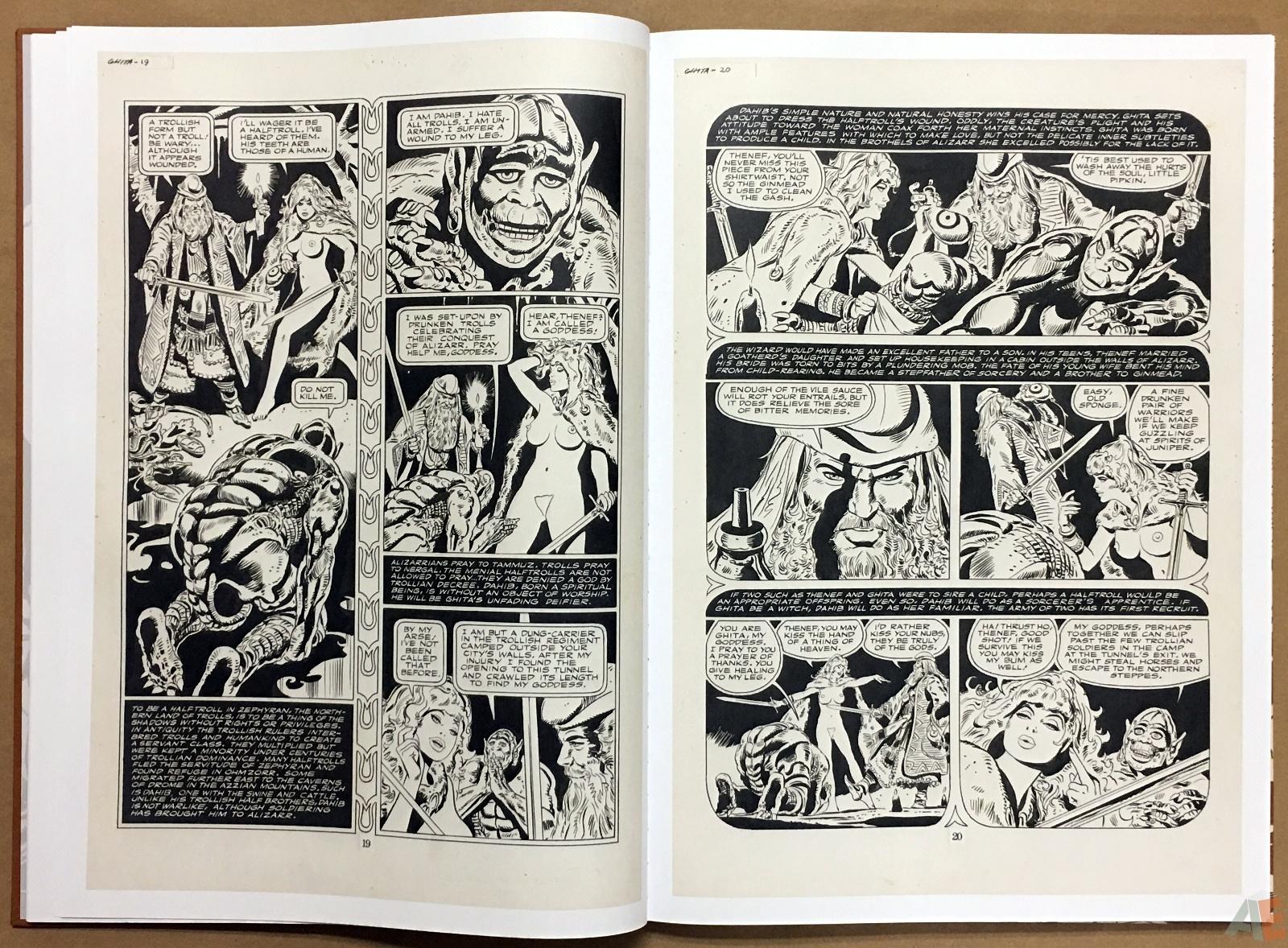 Frank Thorne's Ghita An Erotic Treasury Archival Edition Volume 1 10