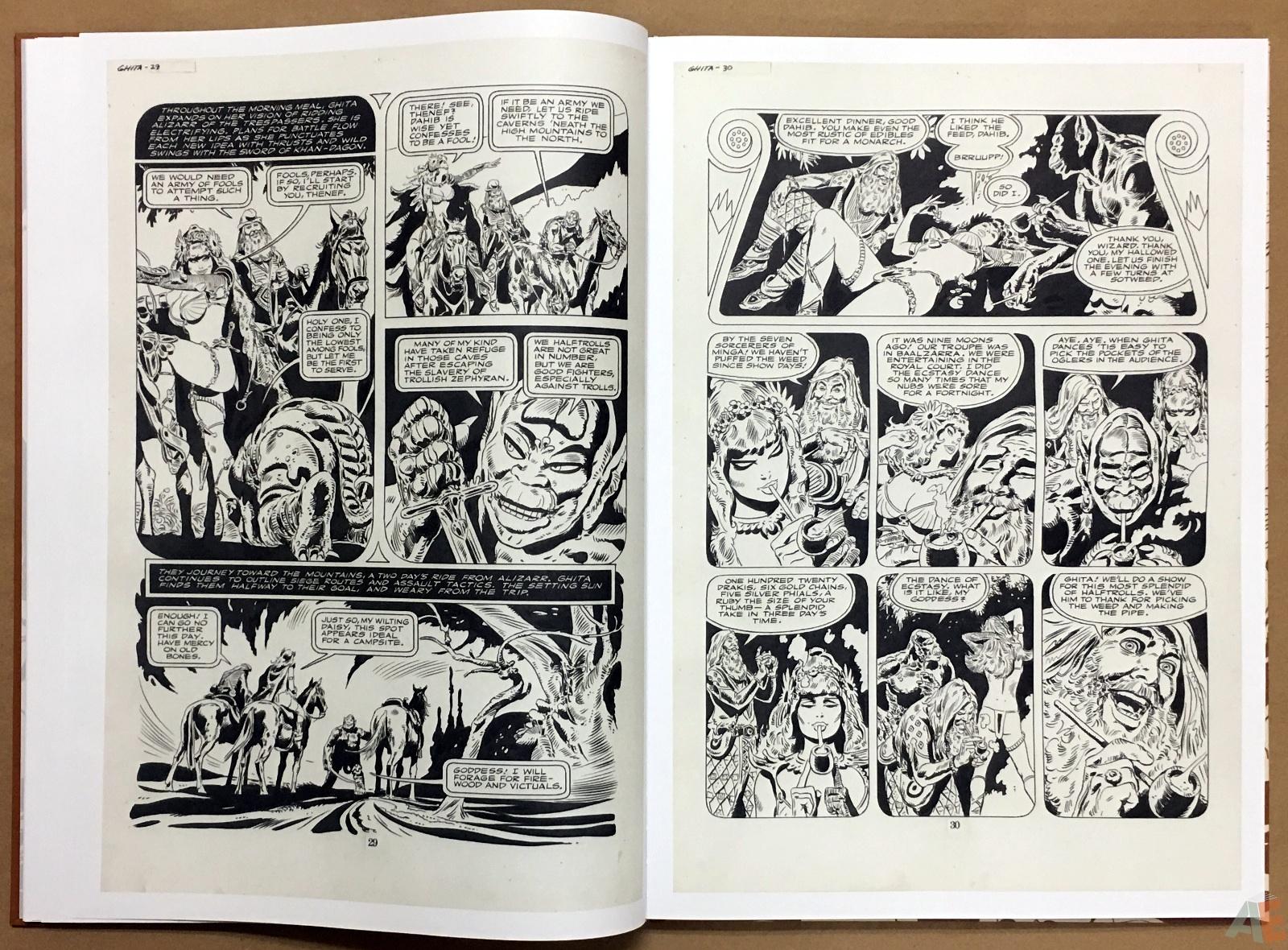 Frank Thorne's Ghita An Erotic Treasury Archival Edition Volume 1 12