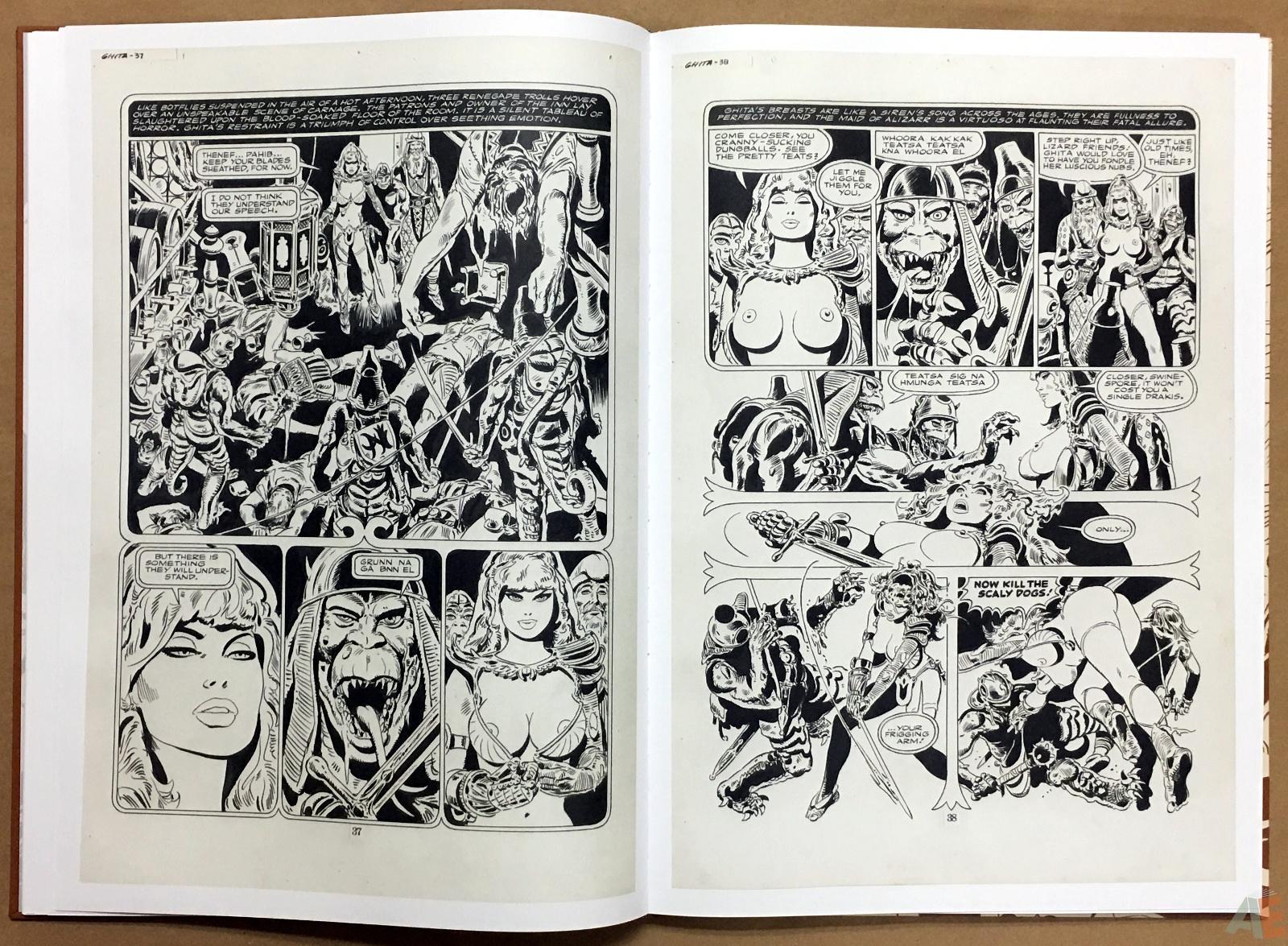 Frank Thorne's Ghita An Erotic Treasury Archival Edition Volume 1 14