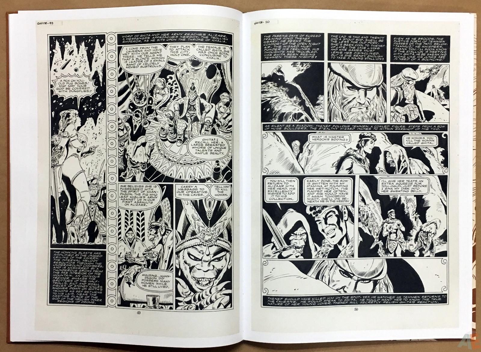 Frank Thorne's Ghita An Erotic Treasury Archival Edition Volume 1 16