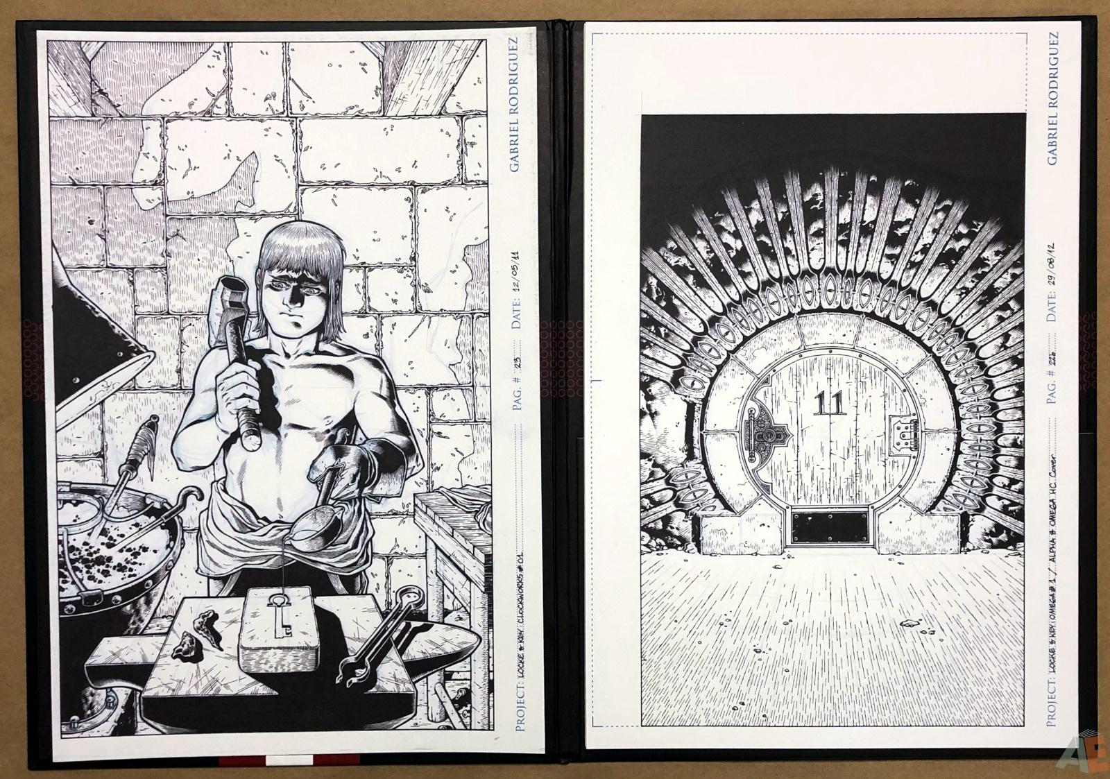 Gabriel Rodriguez's Locke & Key: Artist's Edition Portfolio 6