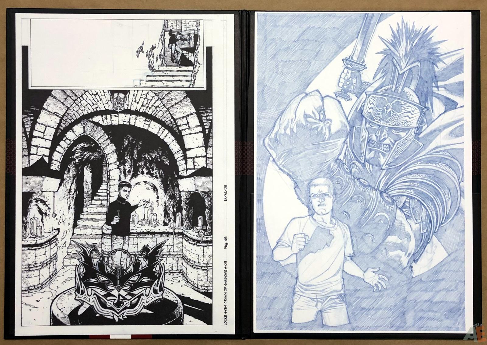 Gabriel Rodriguez's Locke & Key: Artist's Edition Portfolio 12