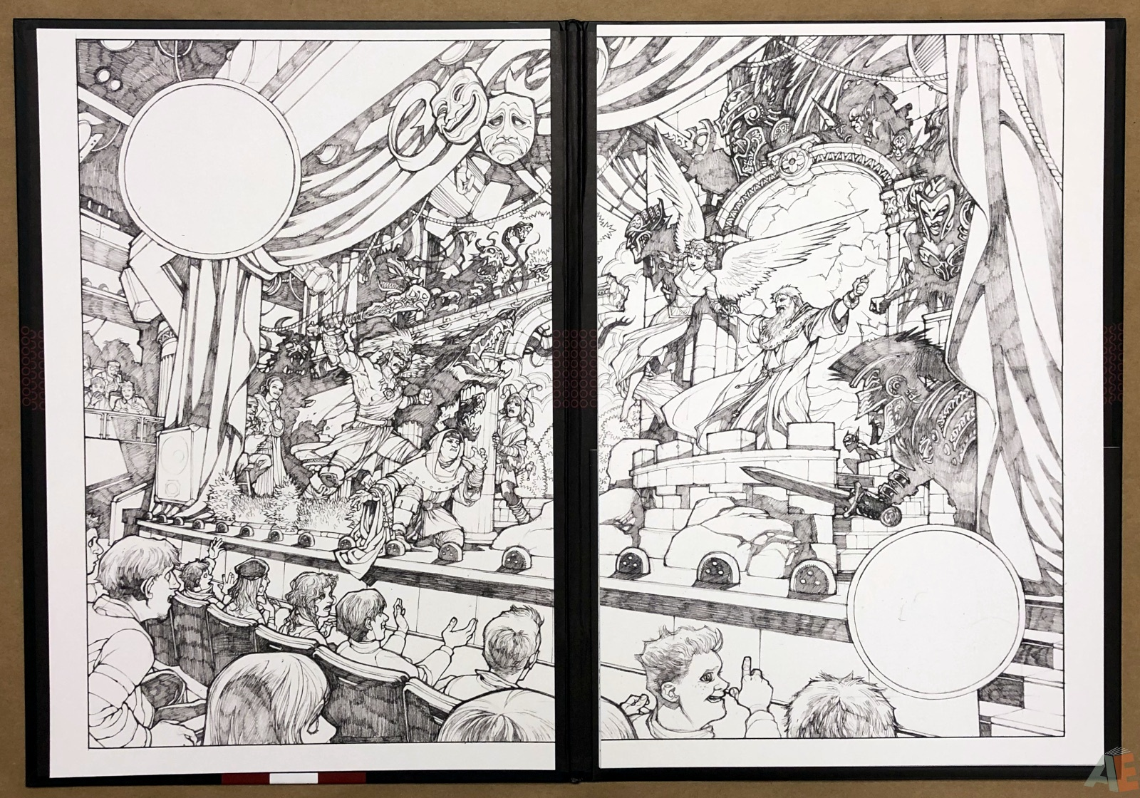 Gabriel Rodriguez's Locke & Key: Artist's Edition Portfolio 14