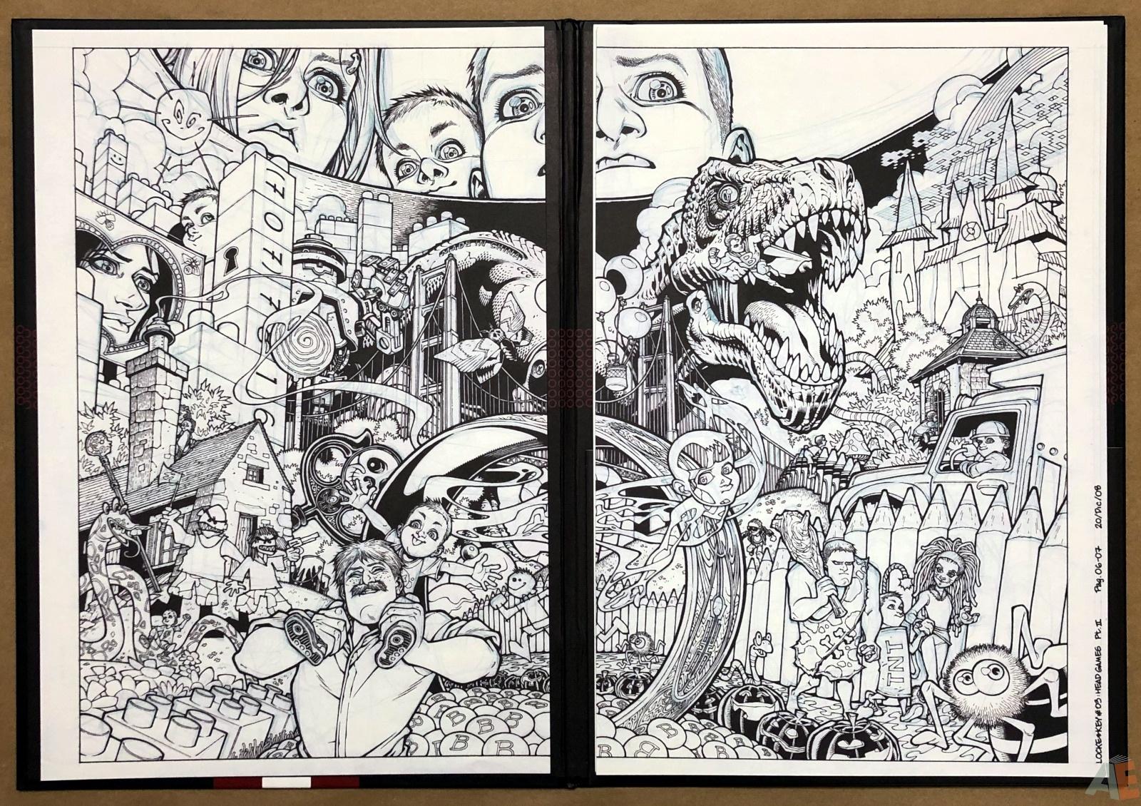 Gabriel Rodriguez's Locke & Key: Artist's Edition Portfolio 16