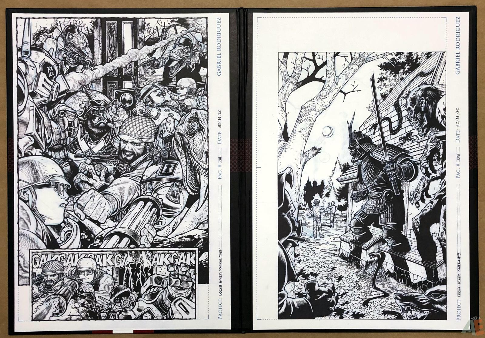 Gabriel Rodriguez's Locke & Key: Artist's Edition Portfolio 18