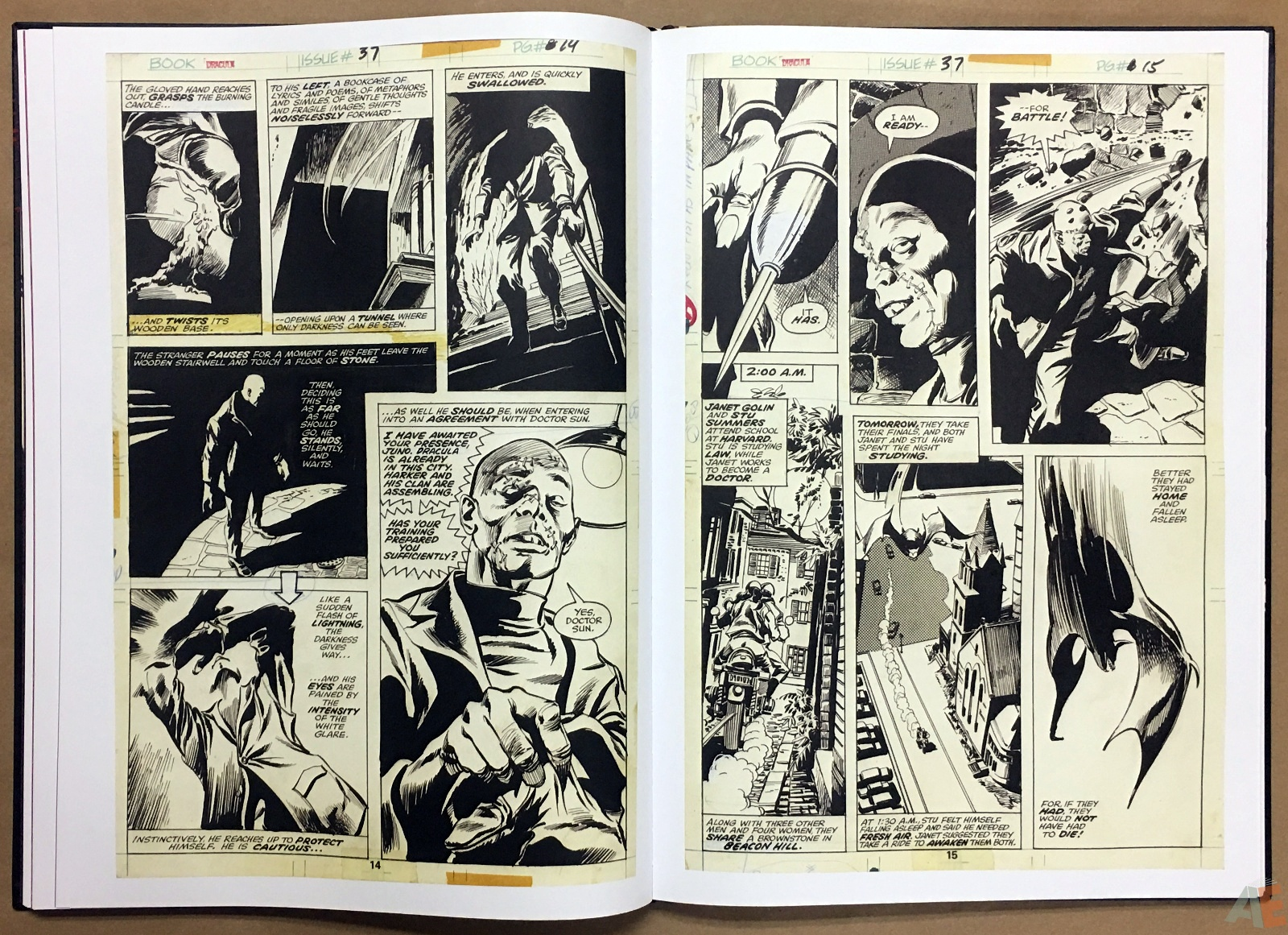 Gene Colan's Tomb Of Dracula Artist's Edition 24