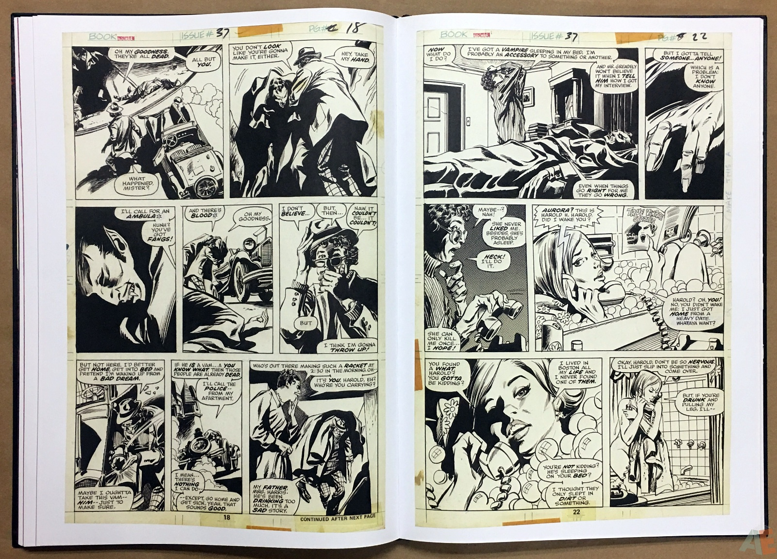 Gene Colan's Tomb Of Dracula Artist's Edition 26