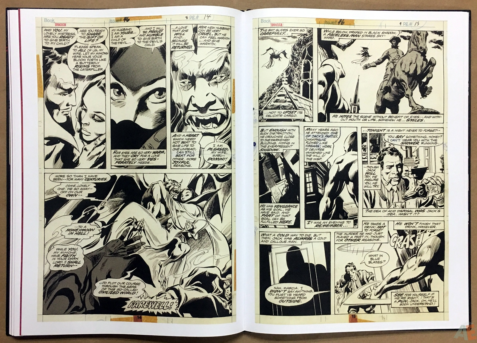 Gene Colan's Tomb Of Dracula Artist's Edition 28