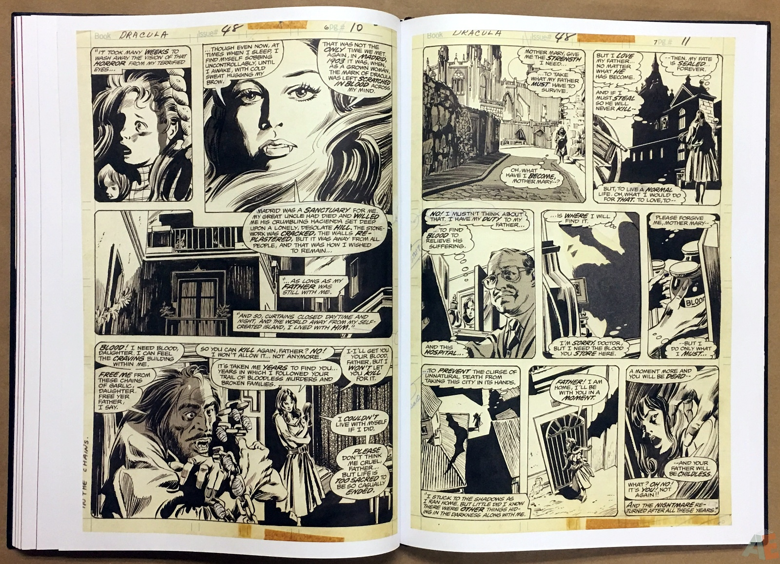 Gene Colan's Tomb Of Dracula Artist's Edition 32