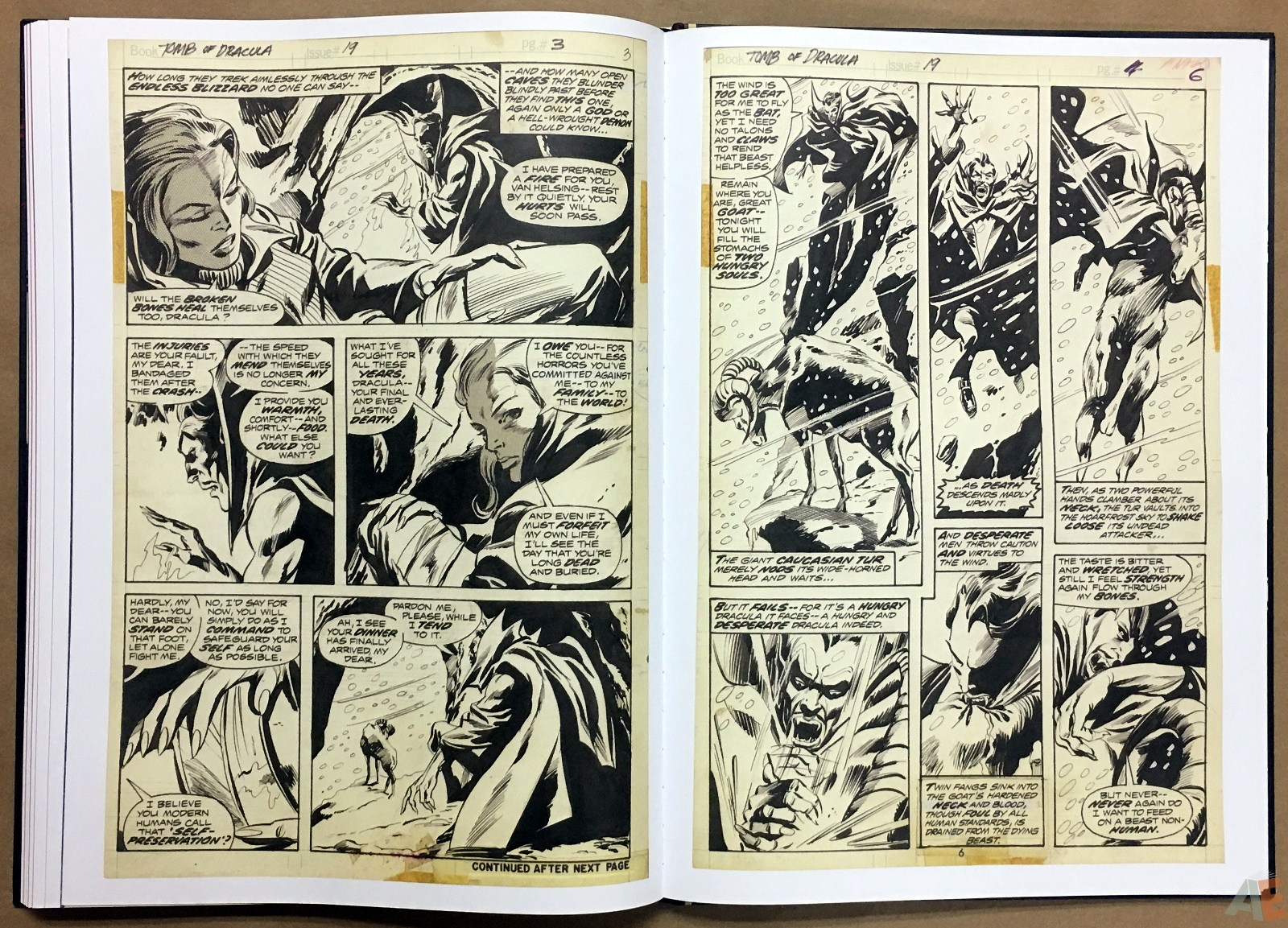 Gene Colan's Tomb Of Dracula Artist's Edition 38