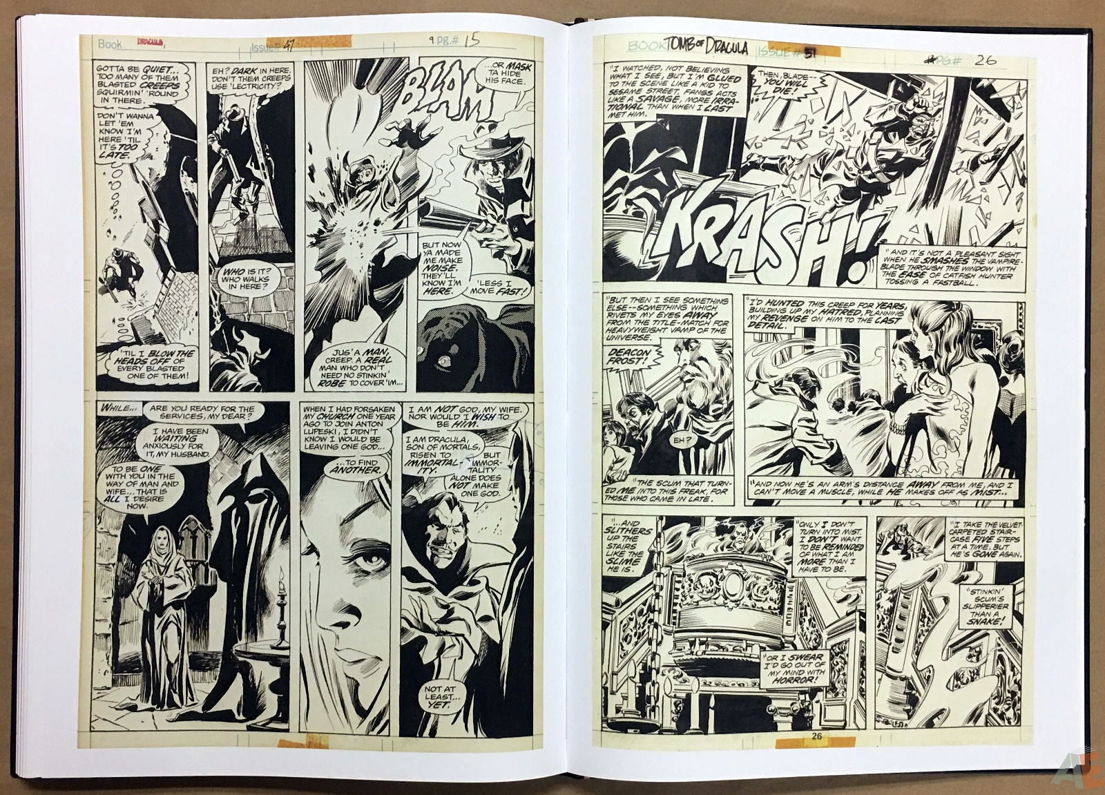 Gene Colan's Tomb Of Dracula Artist's Edition 42
