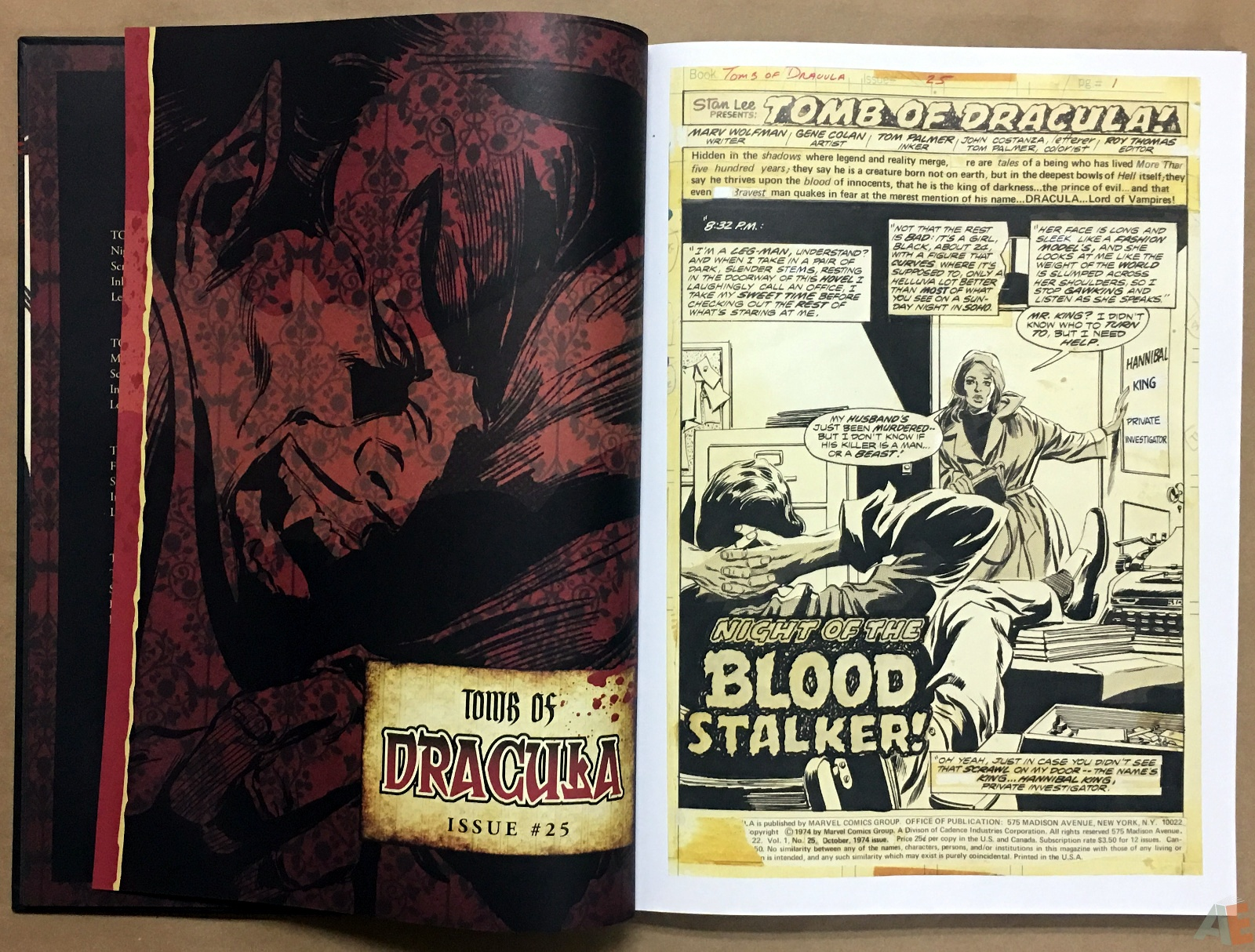 Gene Colan's Tomb Of Dracula Artist's Edition 10