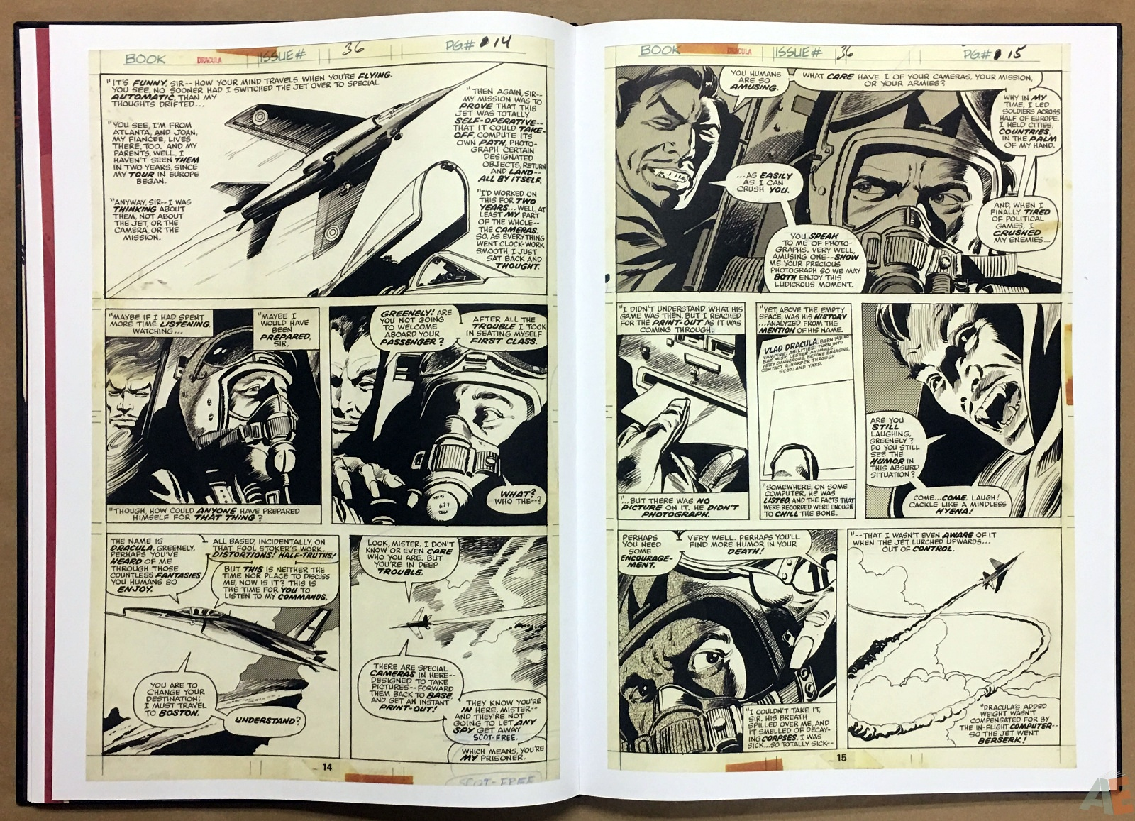 Gene Colan's Tomb Of Dracula Artist's Edition 20