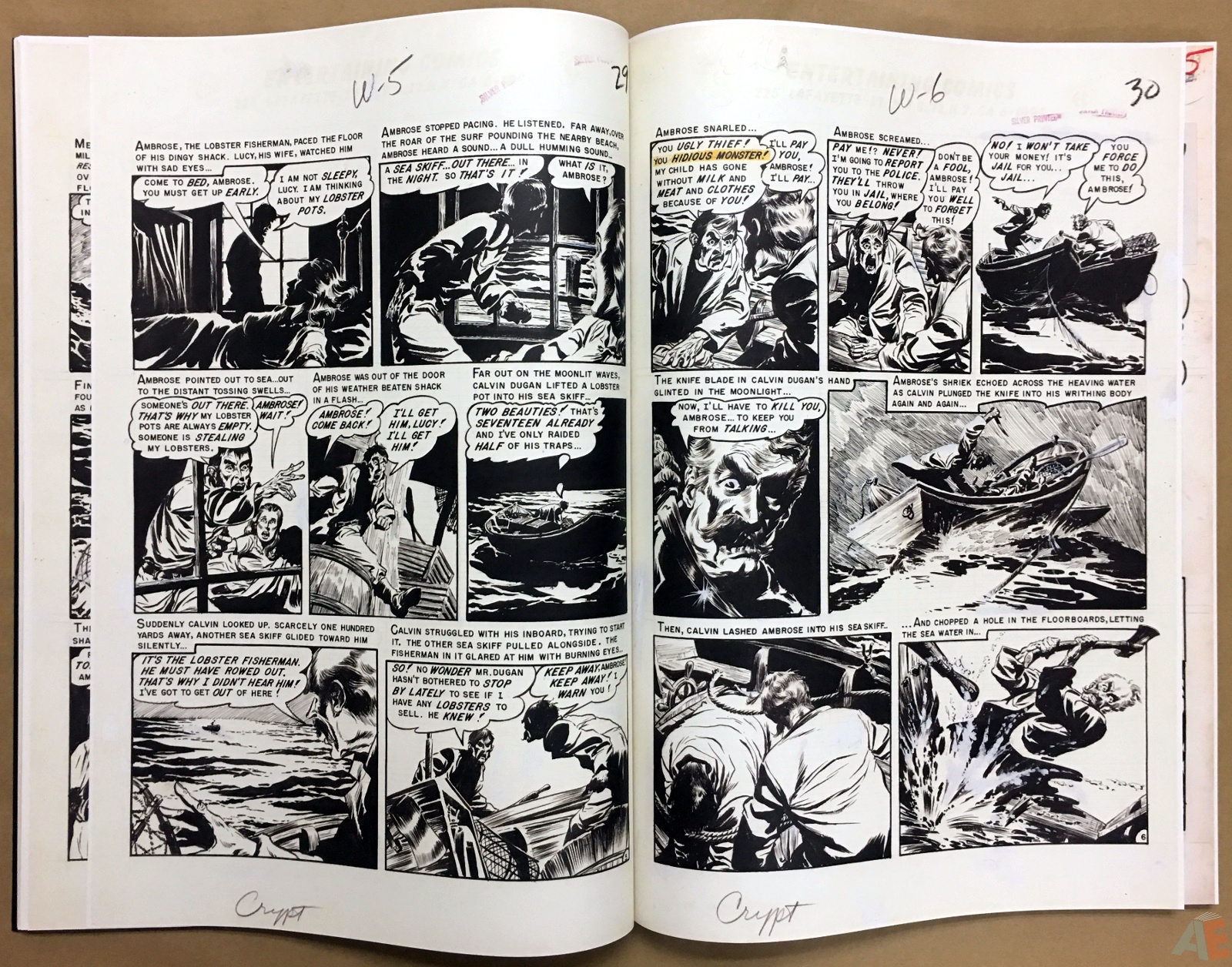 Graham Ingels' EC Stories Artist's Edition 24