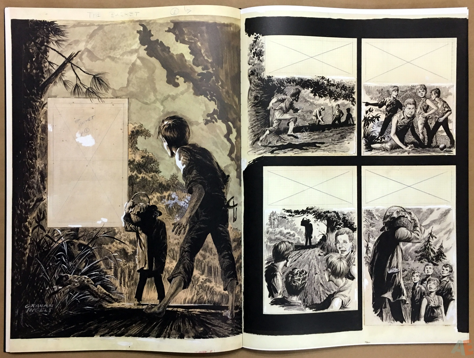 Graham Ingels' EC Stories Artist's Edition 28