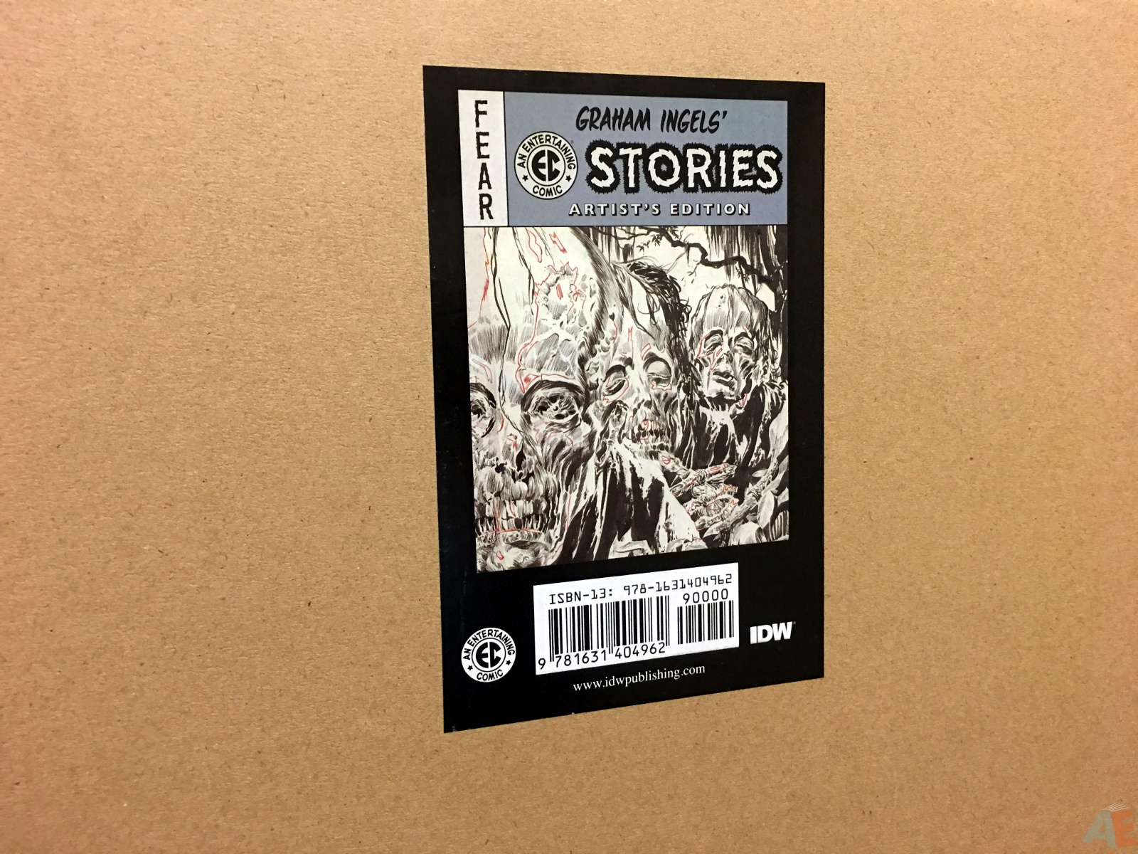 Graham Ingels' EC Stories Artist's Edition 52