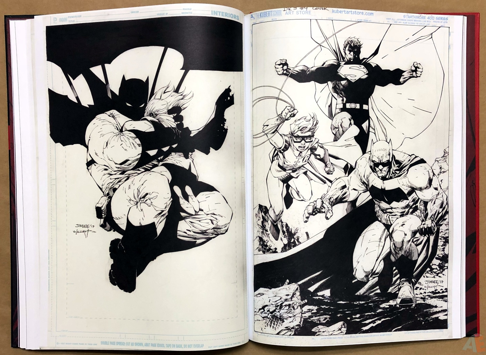 Jim Lee DC Legends Artifact Edition 22