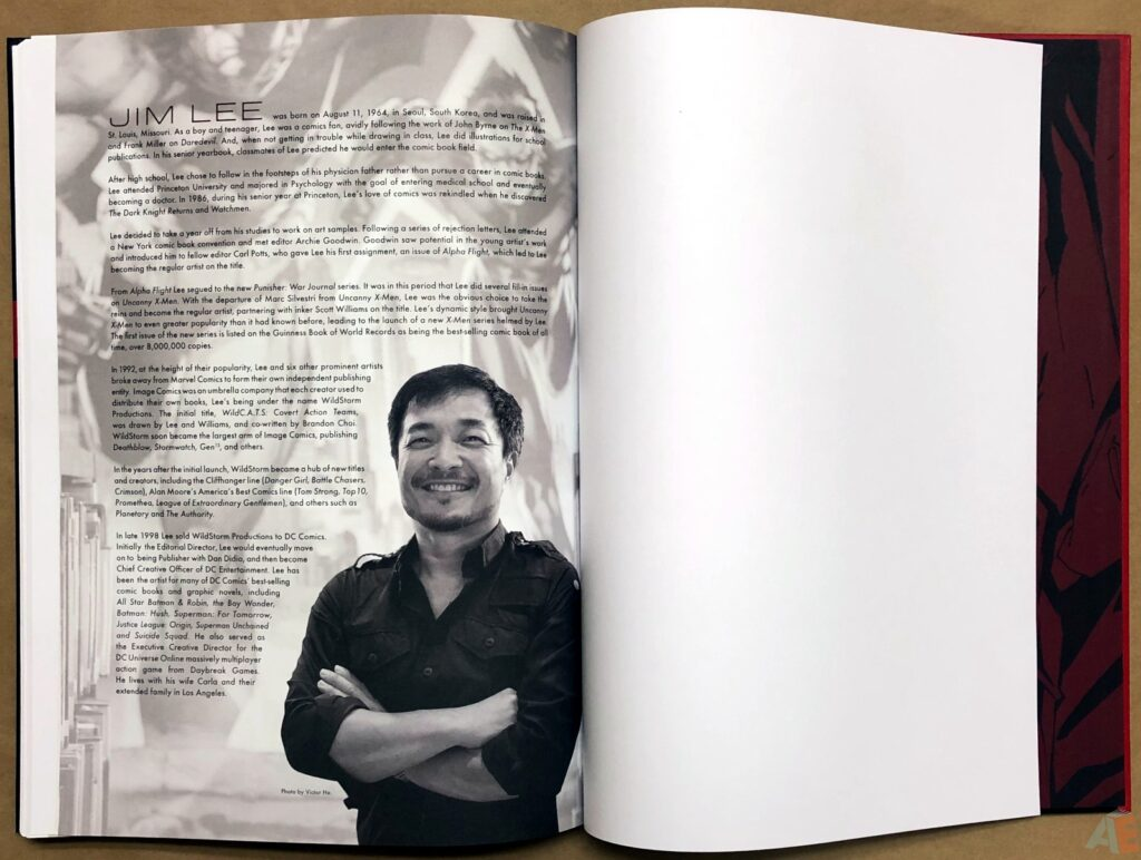 Jim Lee DC Legends Artifact Edition | Artist's Edition Index